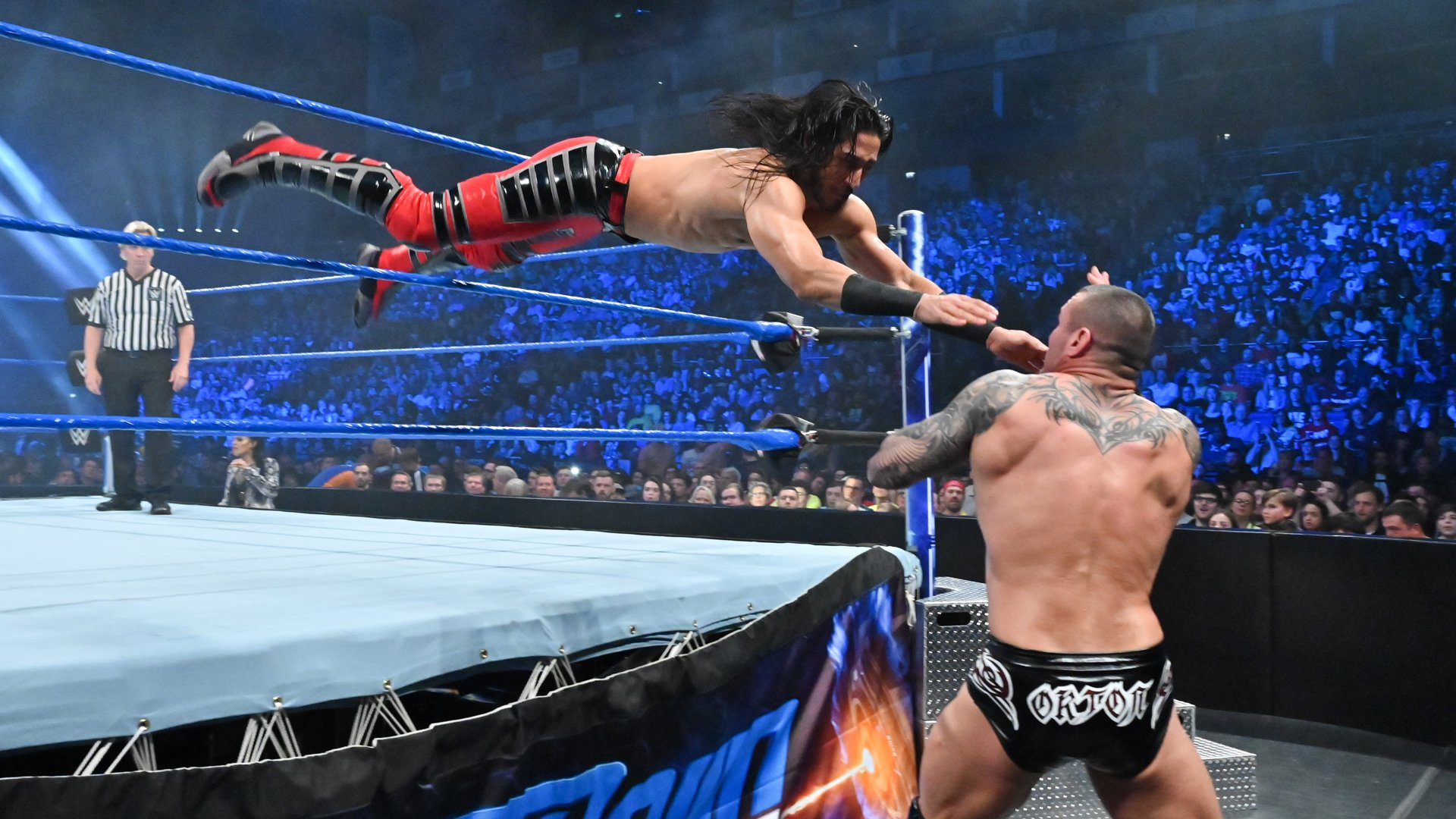 Finn Bálor vs. Ali vs. Randy Orton vs. Andrade: SmackDown LIVE, 14 Mai 2019