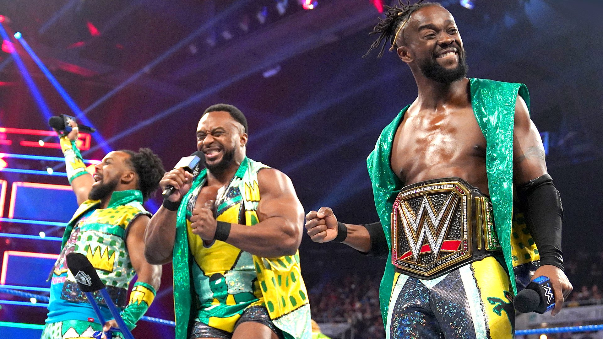 The New Day célèbre le retour Big E: SmackDown LIVE, 21 Mai 2019