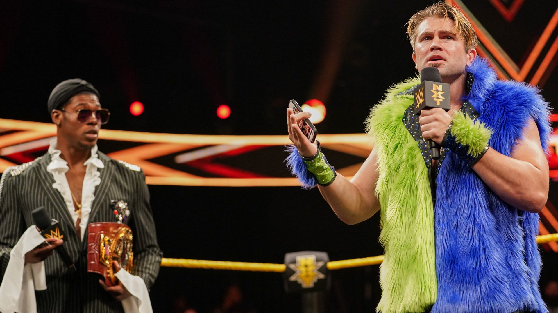 Tyler Breeze revient à NXT avec une surprise pour Velveteen Dream: WWE NXT, 22 Mai 2019