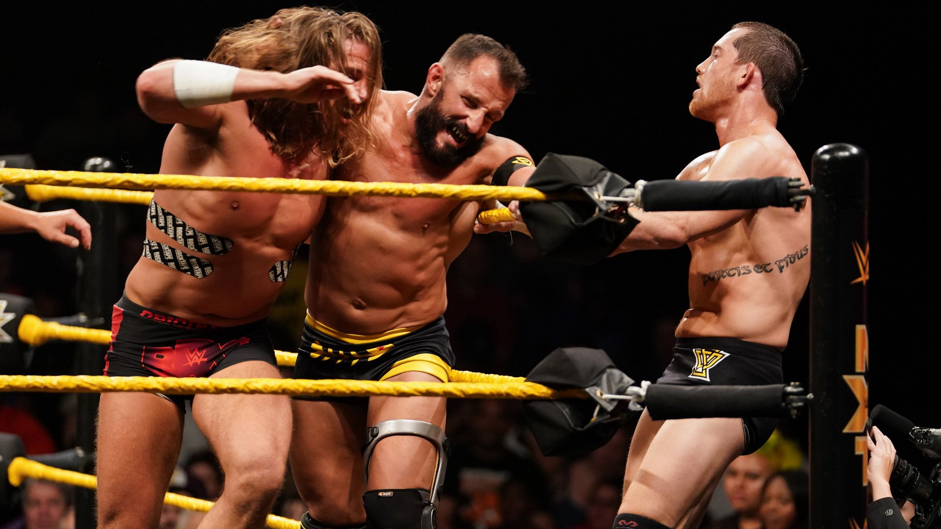 Johnny Gargano & Matt Riddle vs. Bobby Fish & Kyle O'Reilly: WWE NXT, 22 Mai 2019