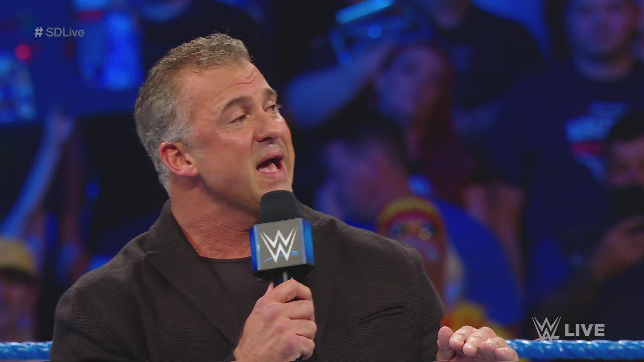 The Usos ruinent la présentation des Titres par Équipes de SmackDown de Shane McMahon: SmackDown LIVE, 7 Mai 2019