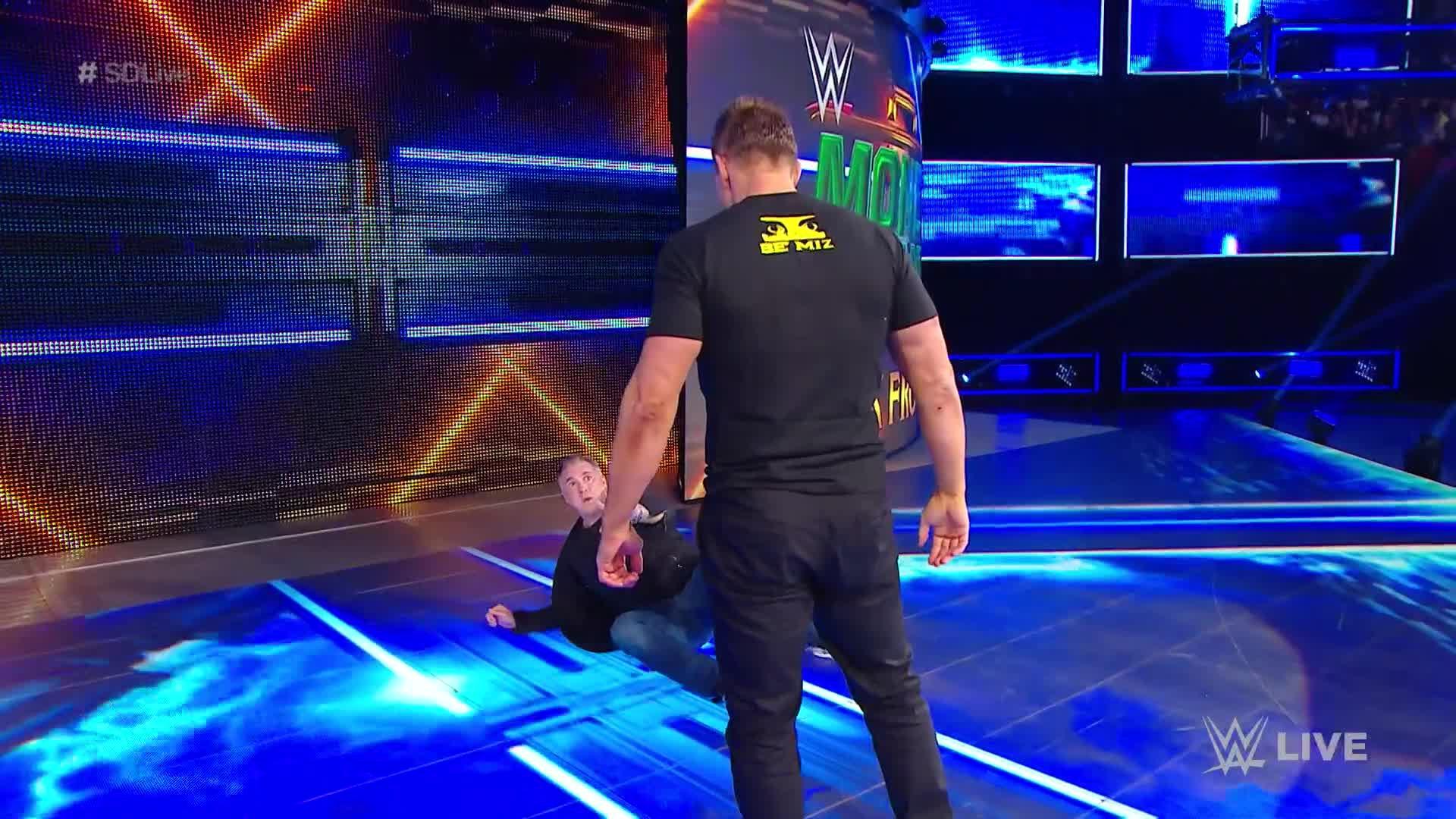 Shane McMahon & The B-Team s'en prennent à The Miz: SmackDown LIVE, 7 Mai 2019