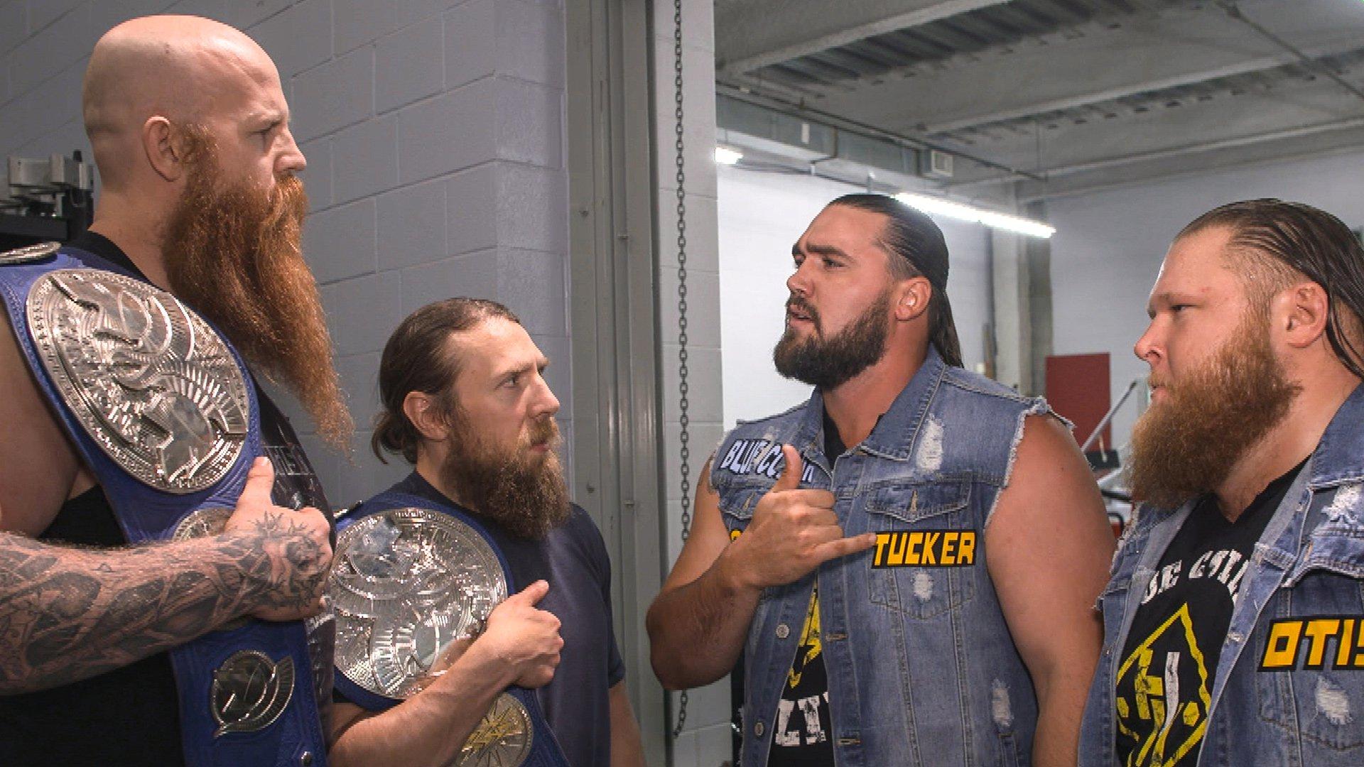 Daniel Bryan & Rowan se disputent avec Heavy Machinery: Exclusivité WWE.fr, 4 Juin 2019