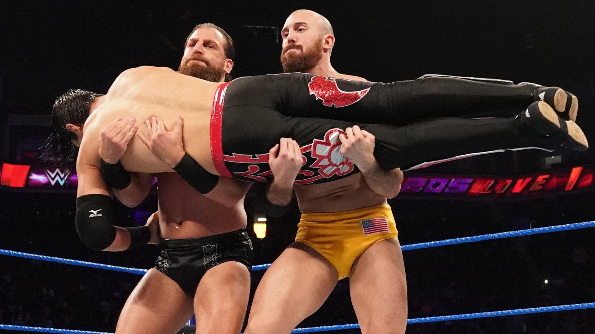 Akira Tozawa vs. Humberto Carrillo vs. Oney Lorcan vs. Drew Gulak: WWE 205 Live, 11 Juin 2019