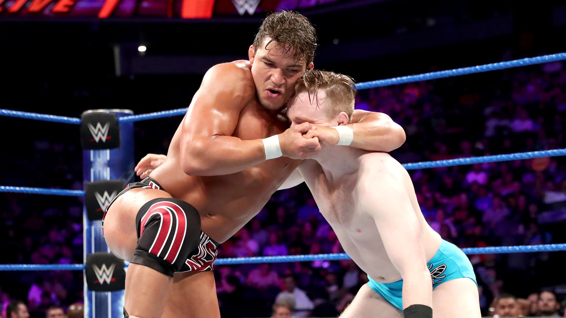 Gentleman Jack Gallagher vs. Chad Gable: WWE 205 Live, 11 Juin 2019