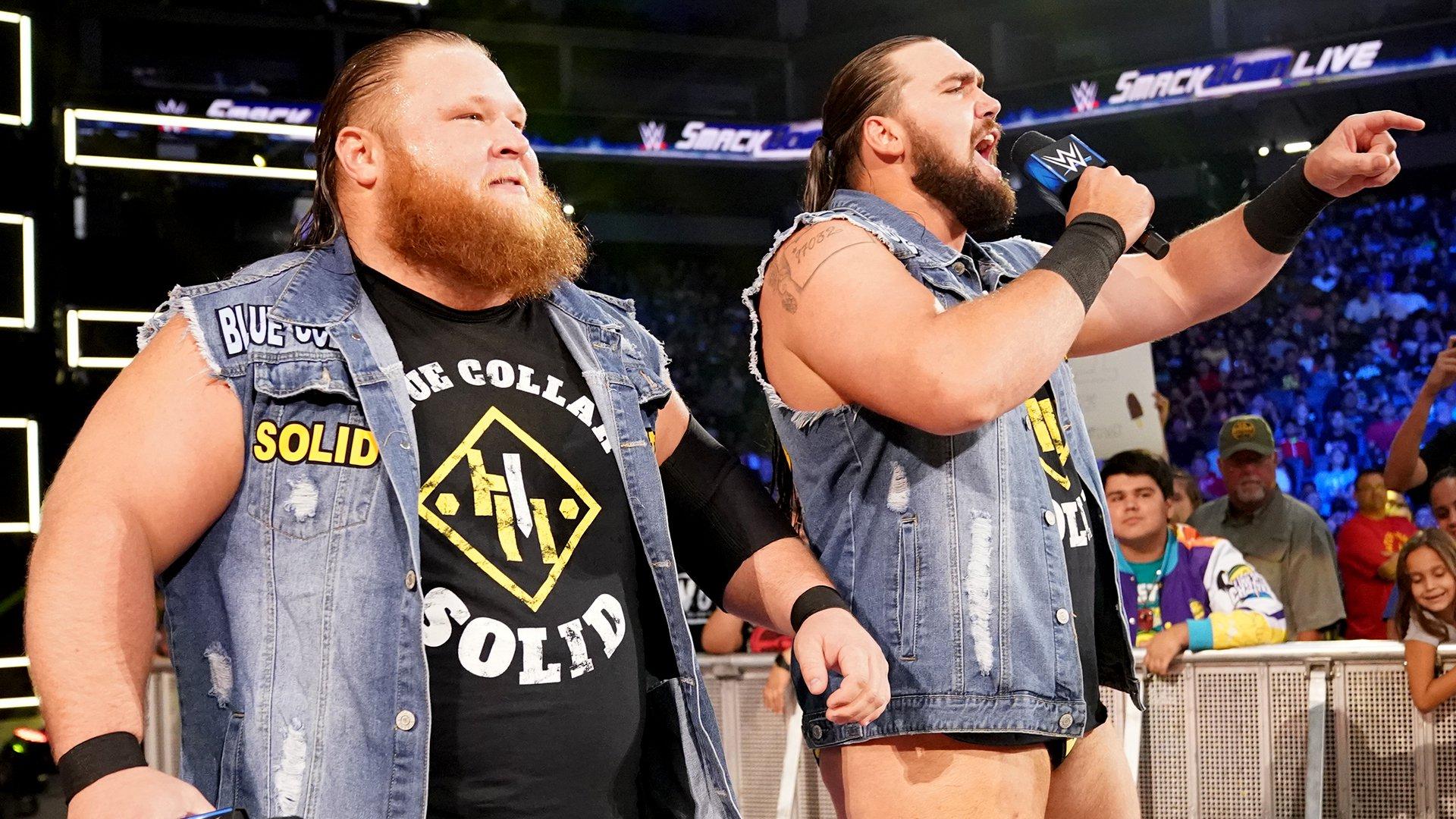 Heavy Machinery vs. Compétiteurs locaux: SmackDown LIVE, 11 Juin 2019