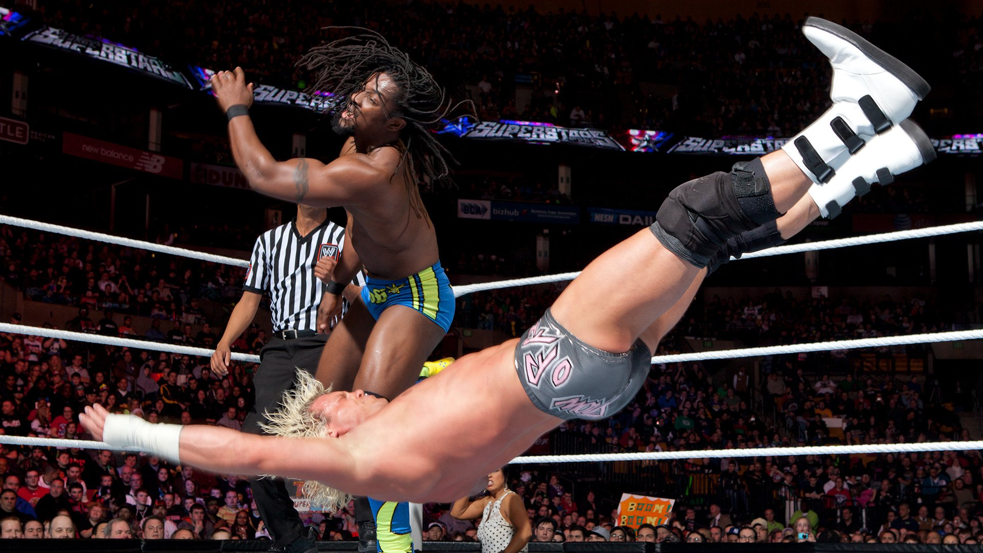 Kofi Kingston vs. Dolph Ziggler: WWE Superstars, 8 Mars 2012