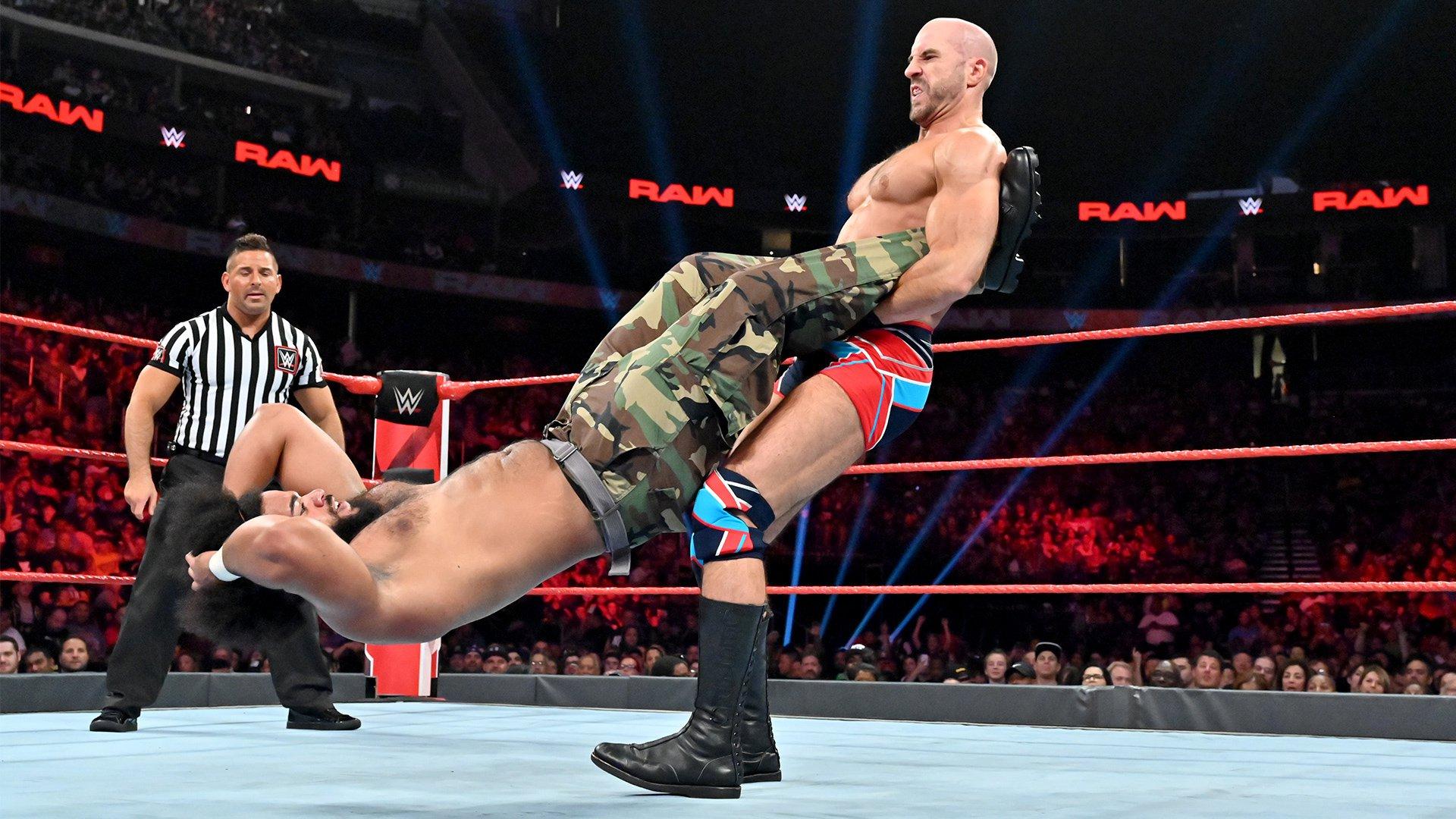 No Way Jose vs. Cesaro: Raw, 8 Juillet 2019