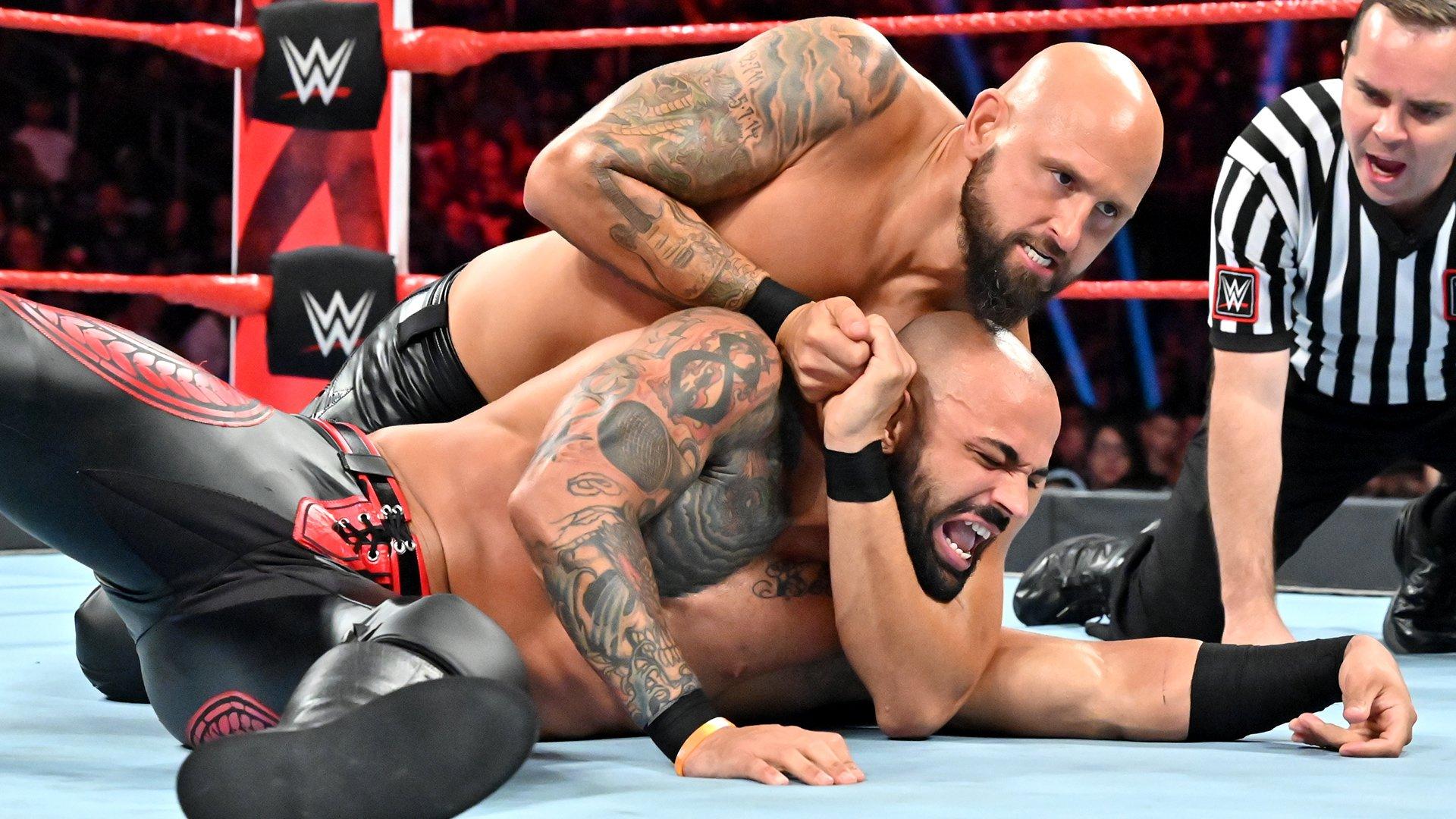 Ricochet vs. Karl Anderson: Raw, 8 Juillet 2019