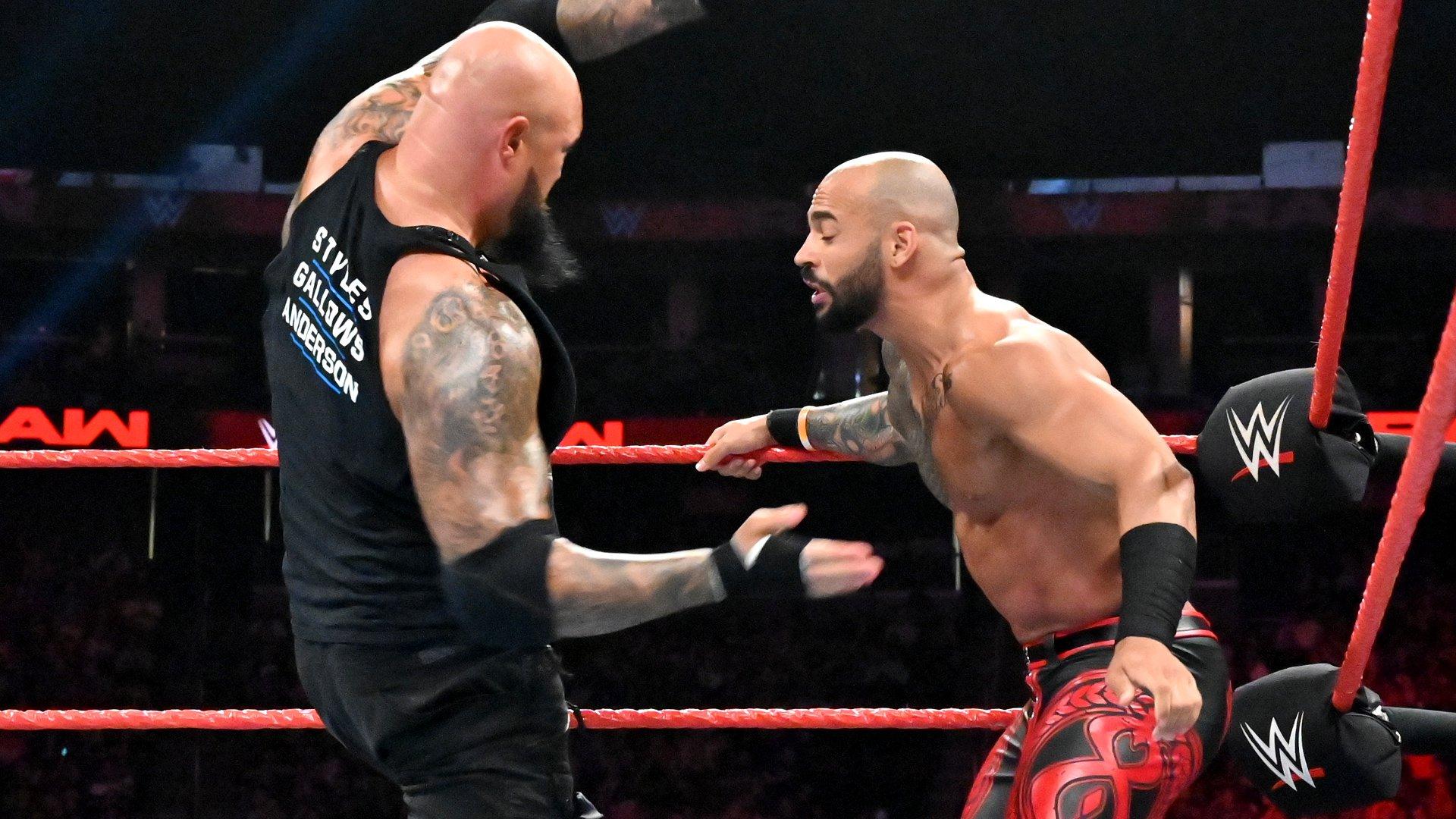 Ricochet vs. Luke Gallows: Raw, 8 Juillet 2019