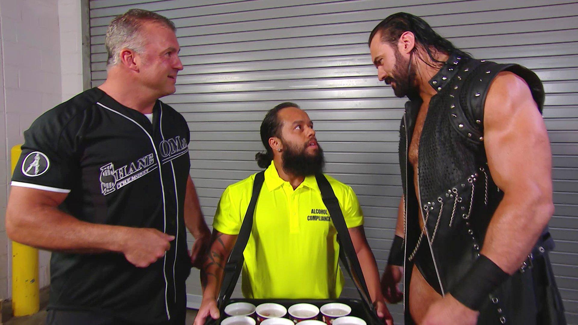 Shane McMahon cherchent un partenaire pour Roman Reigns: Raw, 8 Juillet 2019
