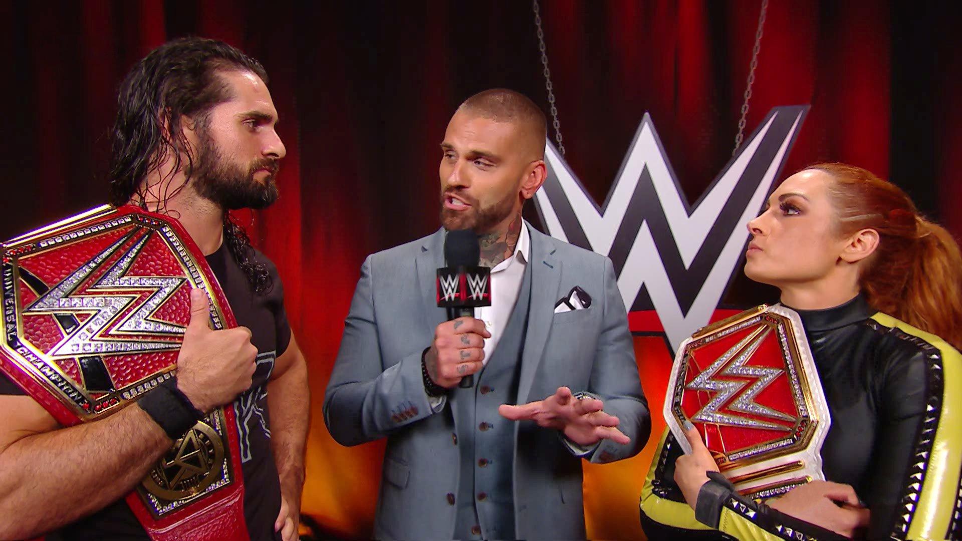 The Man et The Man's Man sont prêts pour WWE Extreme Rules: Raw, 8 Juillet 2019