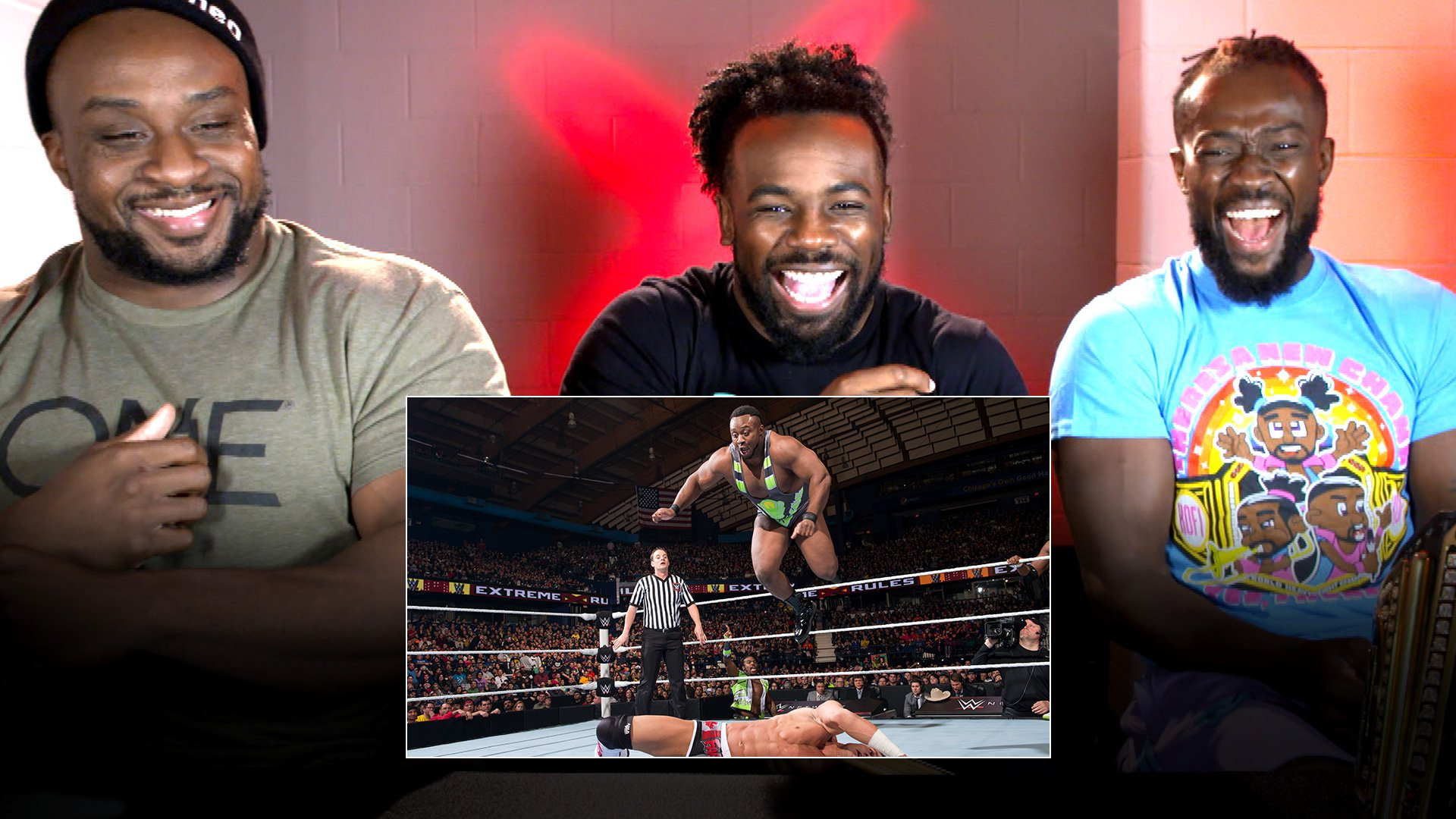 New Day regardent le combat Extreme Rules avec Kidd & Cesaro: WWE Playback