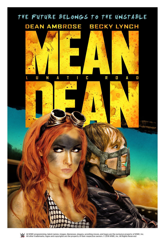 Mean Dean: Lunatic Road poster