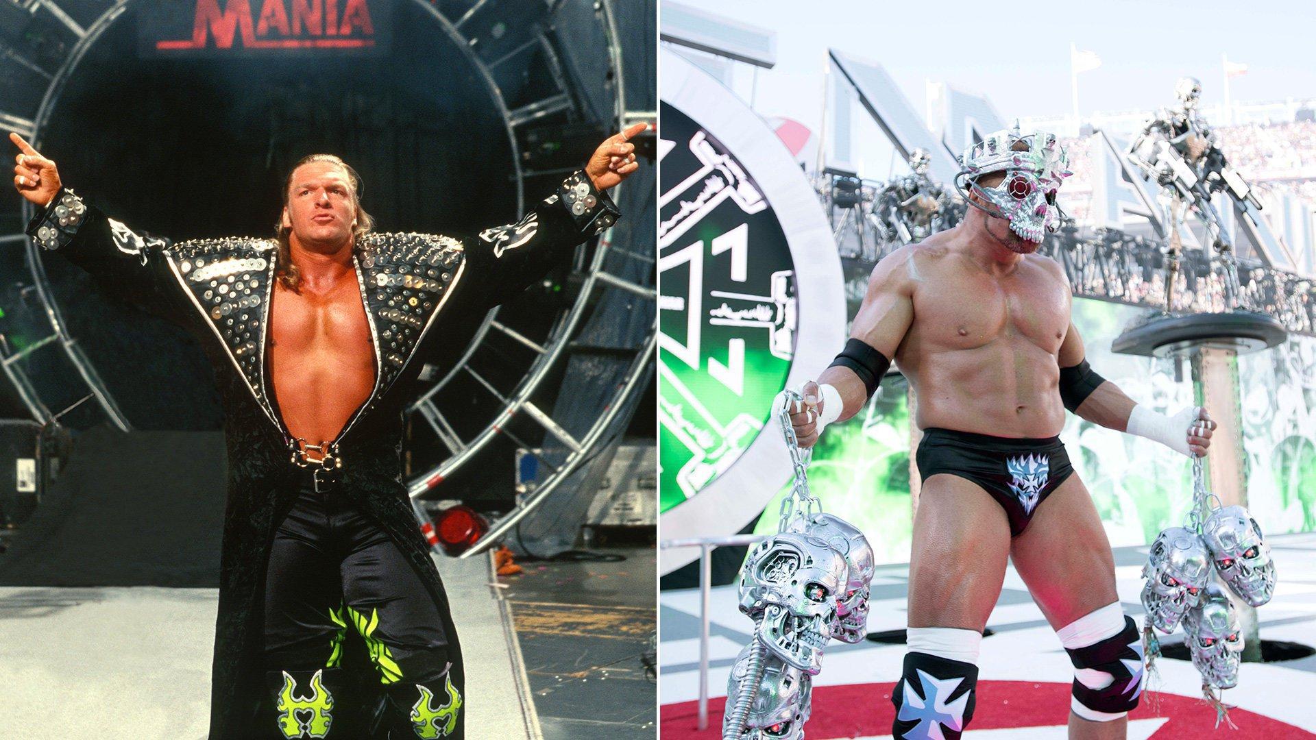 L'évolution des entrées de WrestleMania