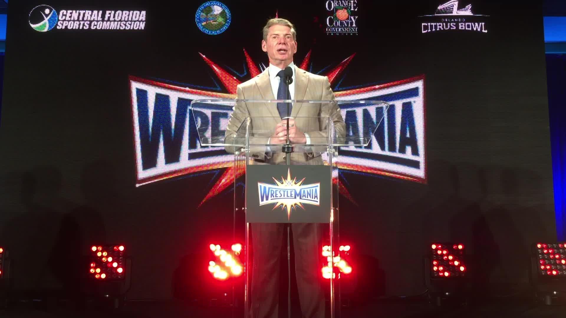 Vince McMahon oczekuje wiele od WrestleManii 33