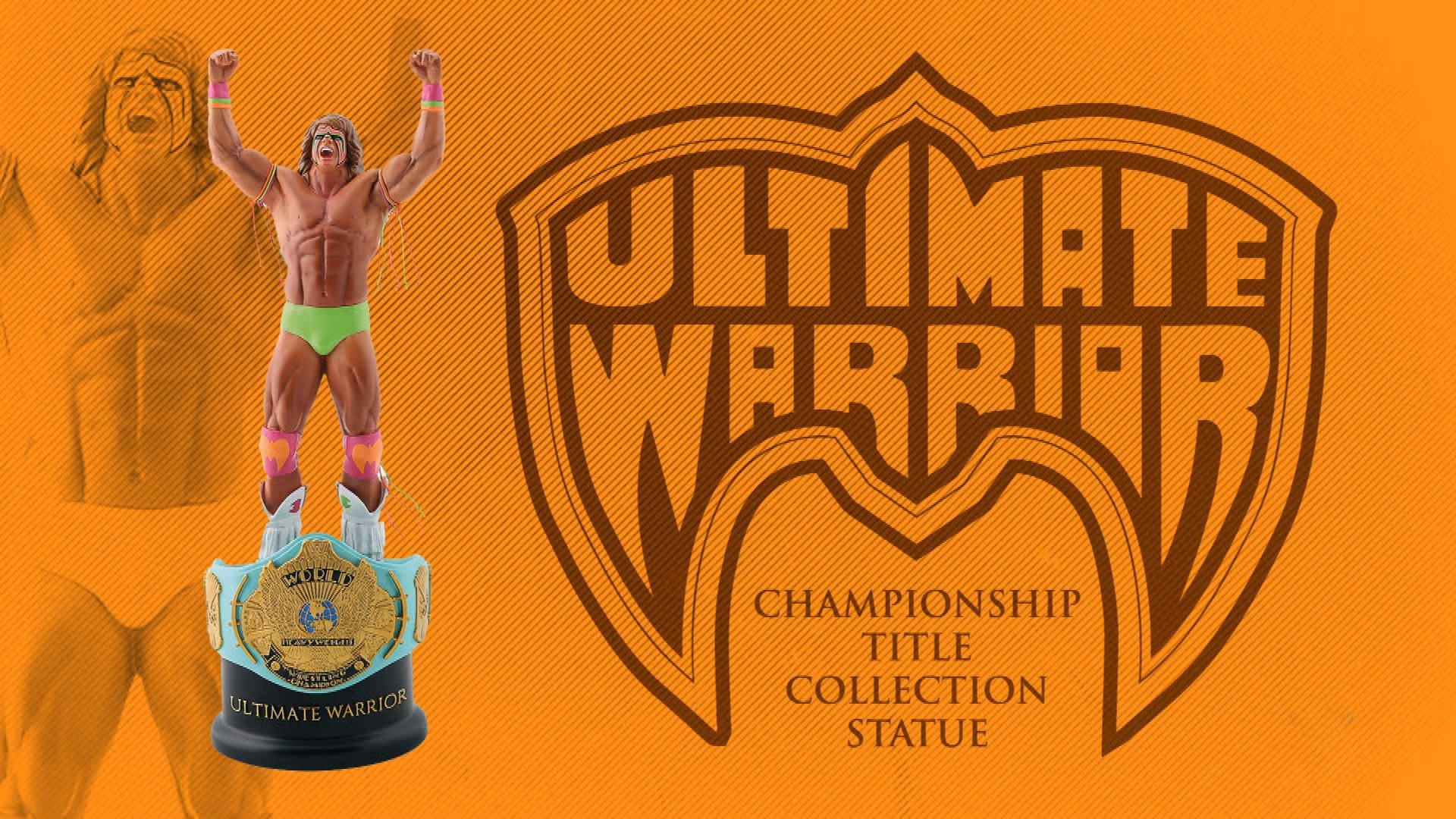 Dana Warrior dévoile la statue exclusive Ultimate Warrior Championship Title Series
