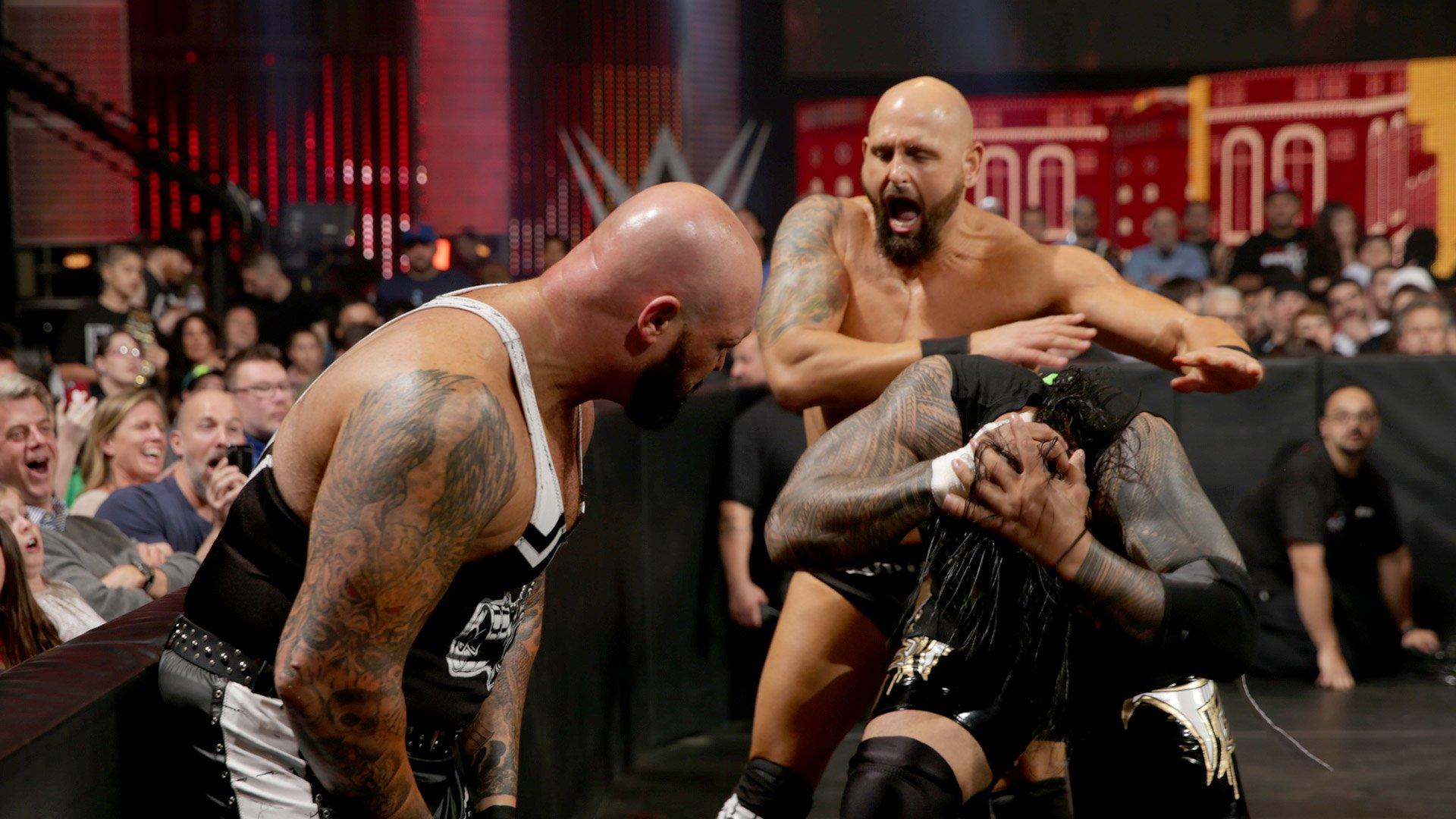 Wwe world heavyweight champion roman reigns def aj styles extreme rules match wwe