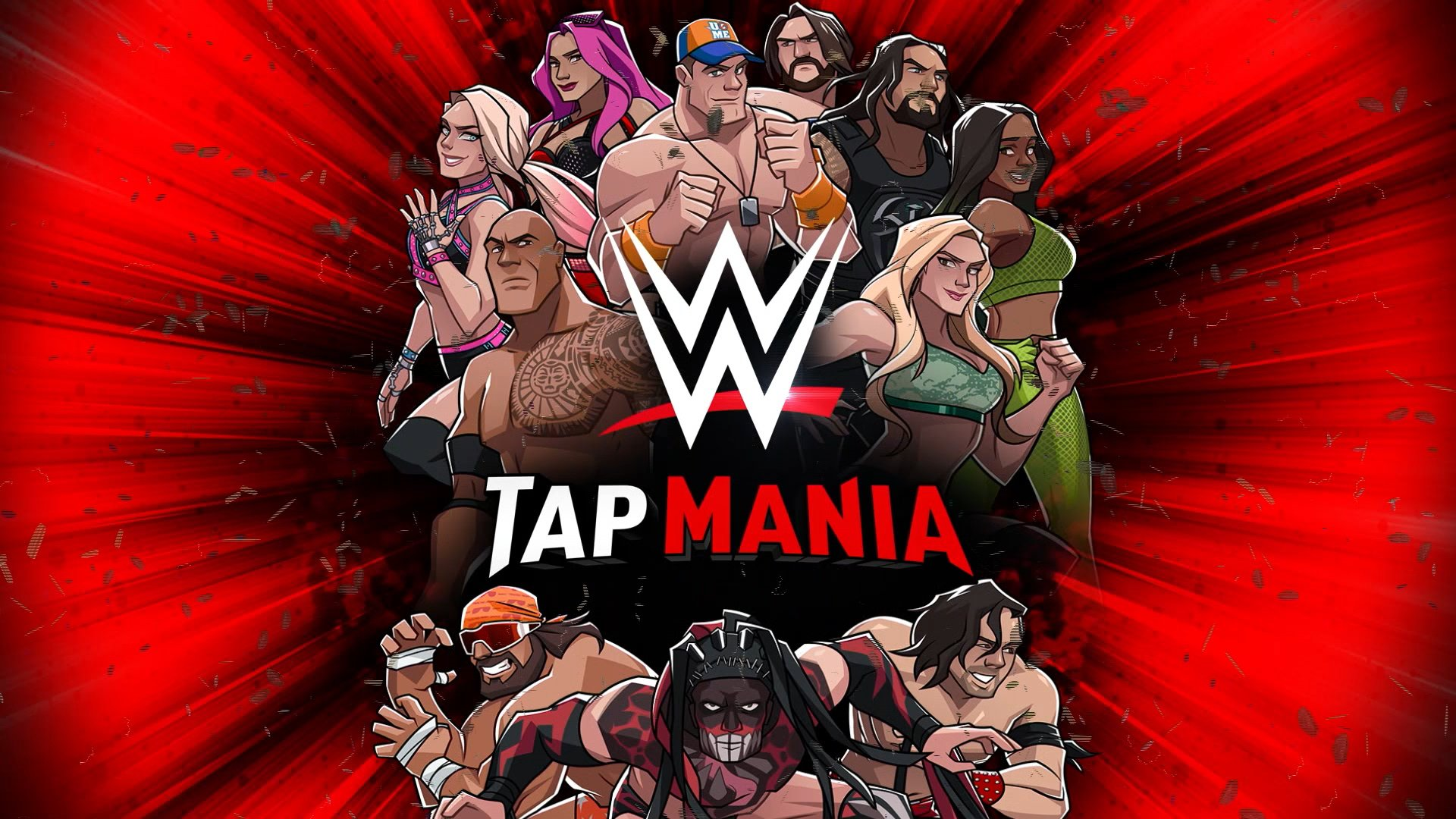 WWE Tap Mania Hack Mod APK Cheats