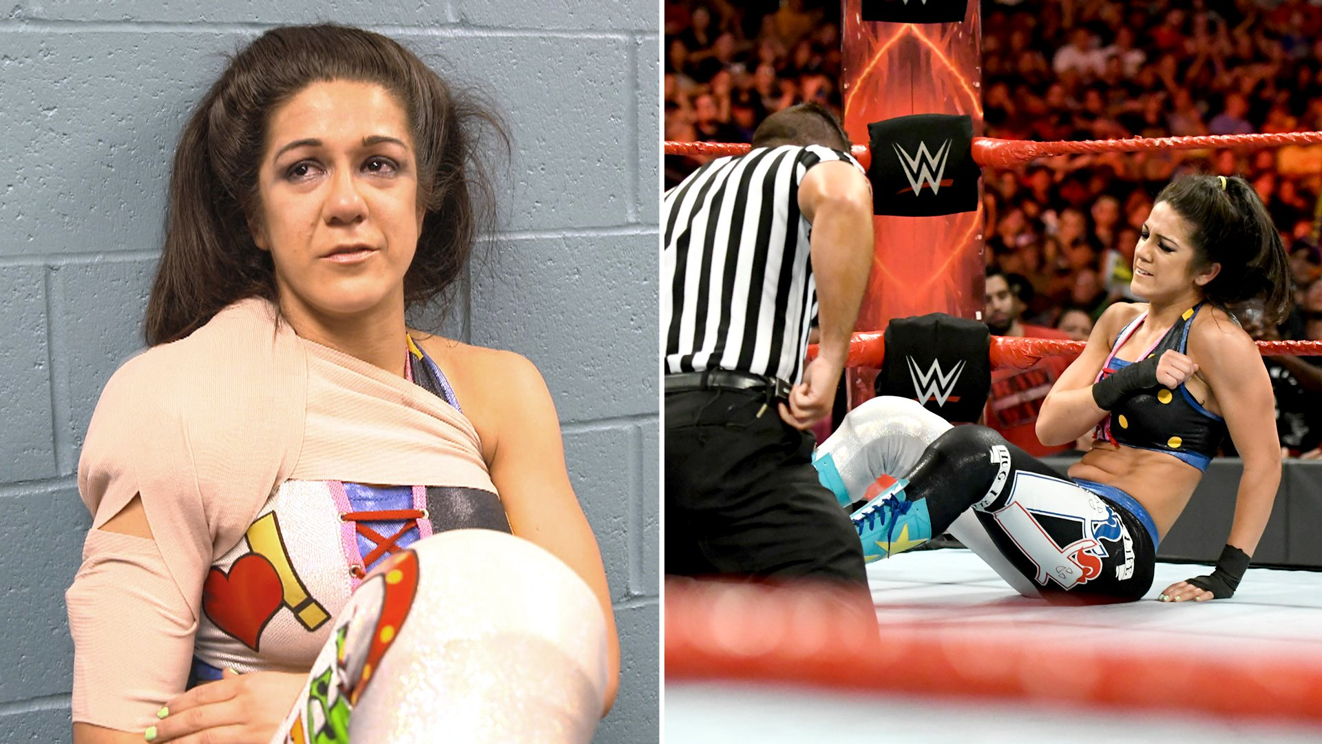 Image result for Bayley injury