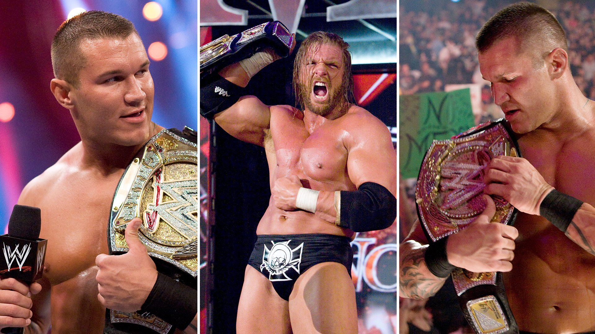 The Greatest Ring Names Ever WWE - Famous wwe wrestlers looked completely different