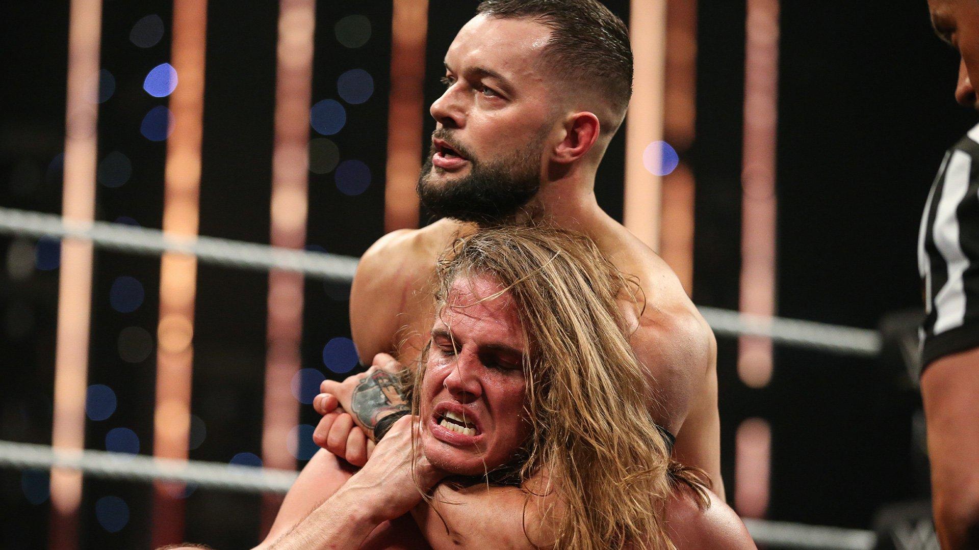 Matt Riddle Locks In Against Finn Bálor Takeover Wargames Wwe Network Exclusive