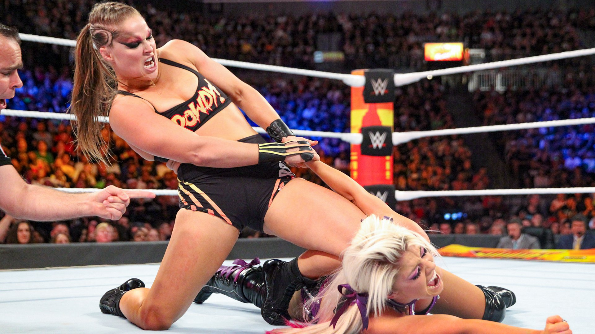 Ronda Rousey Reportedly Not Working WWE Wrestlemania 37 2