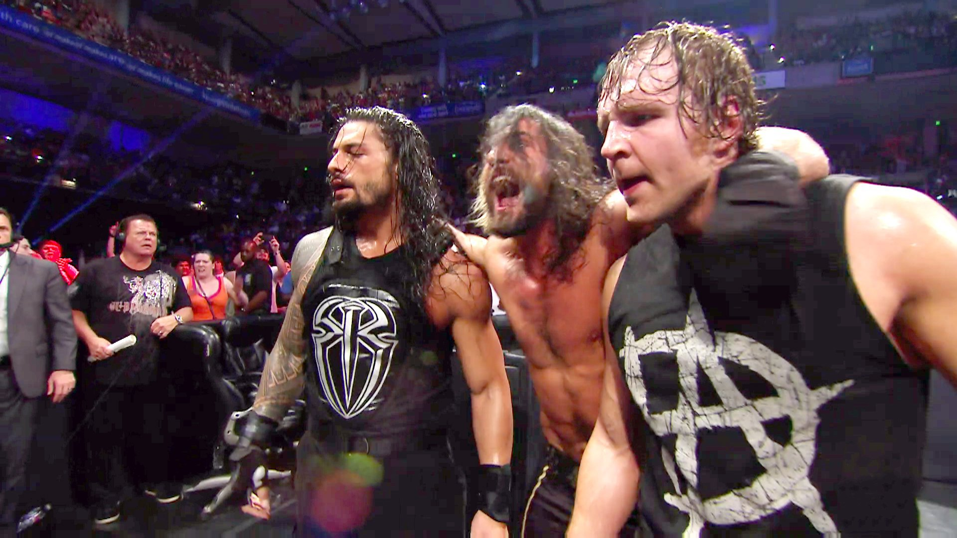 The Shield se réunit: WWE Payback 2015