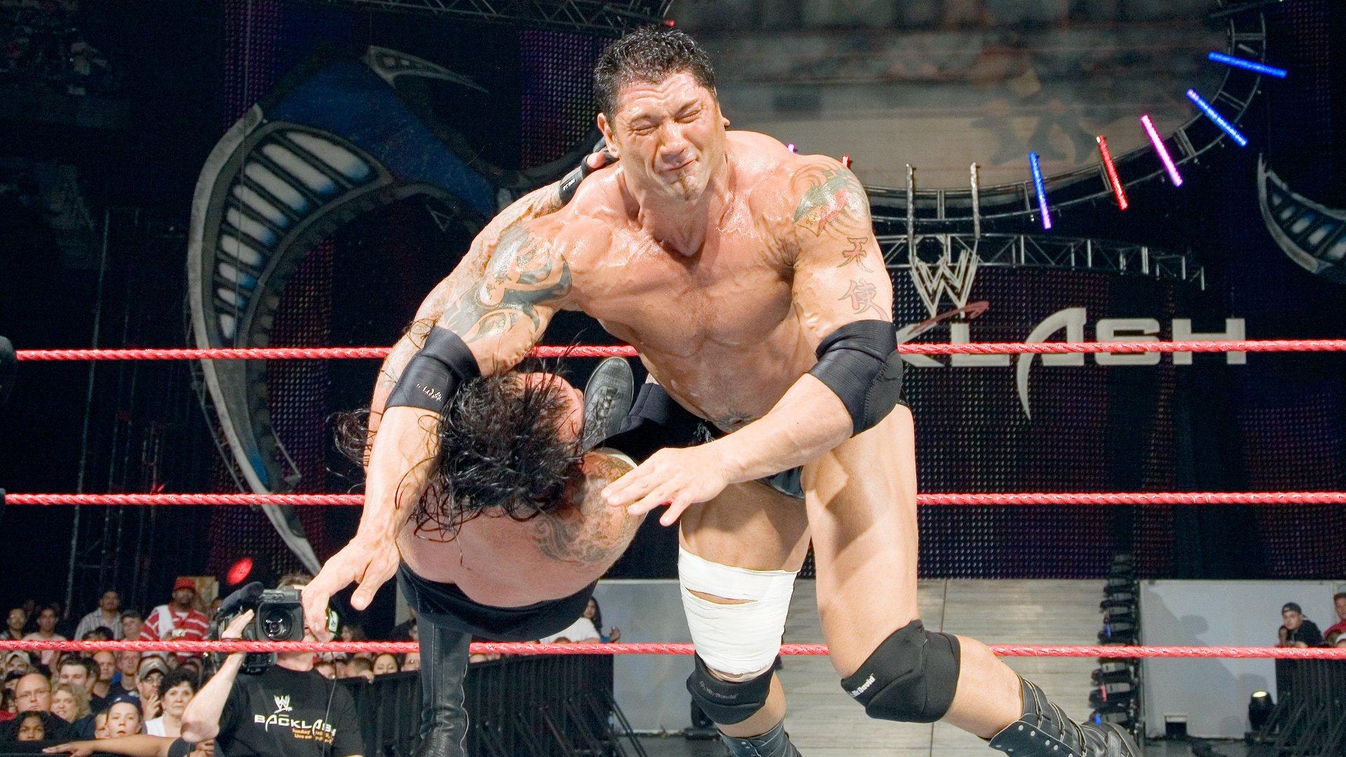 Image result for WWE Backlash 2007 Undertaker vs Batista wwe.com
