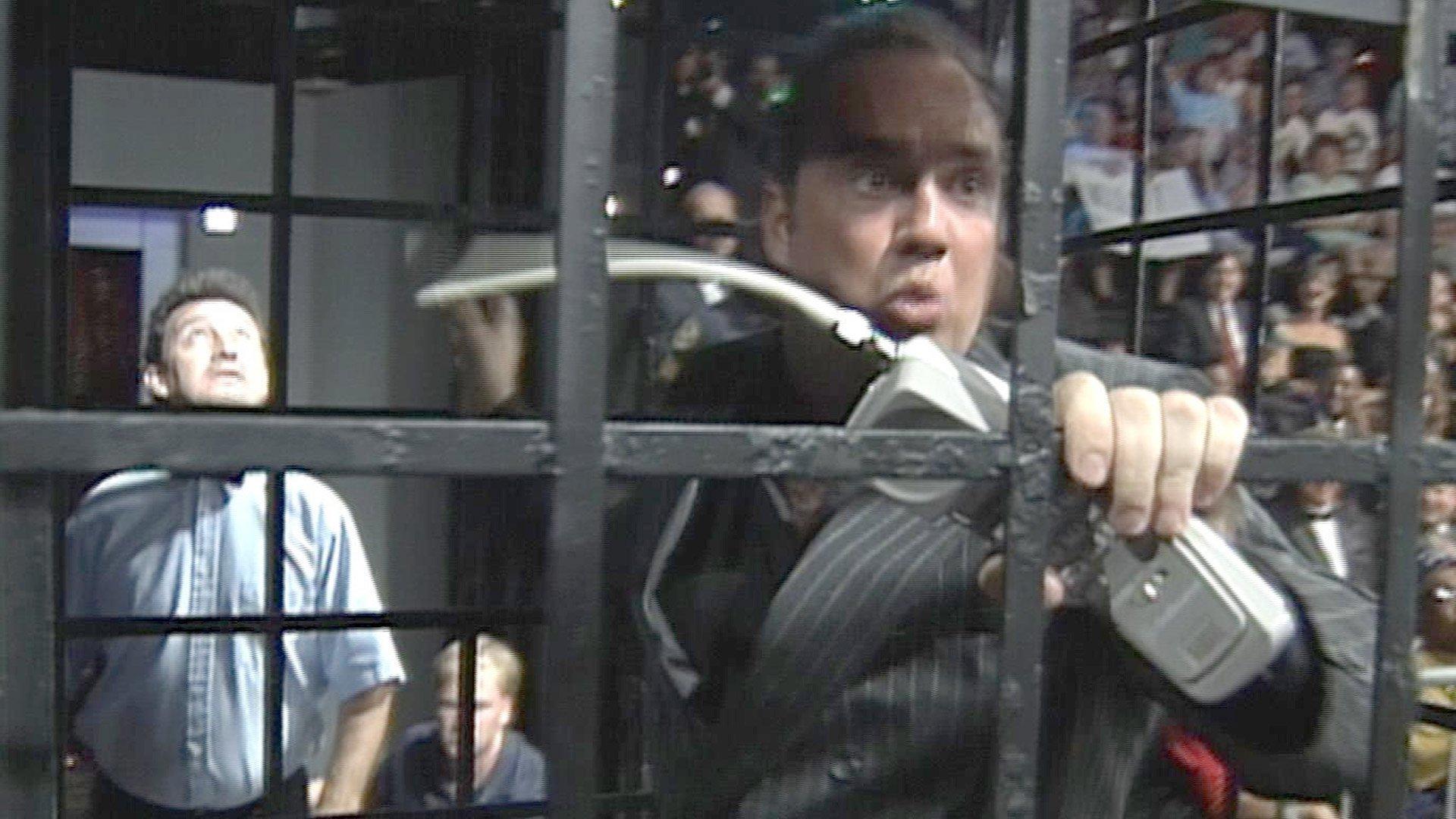 Managers enfermés dans des cages