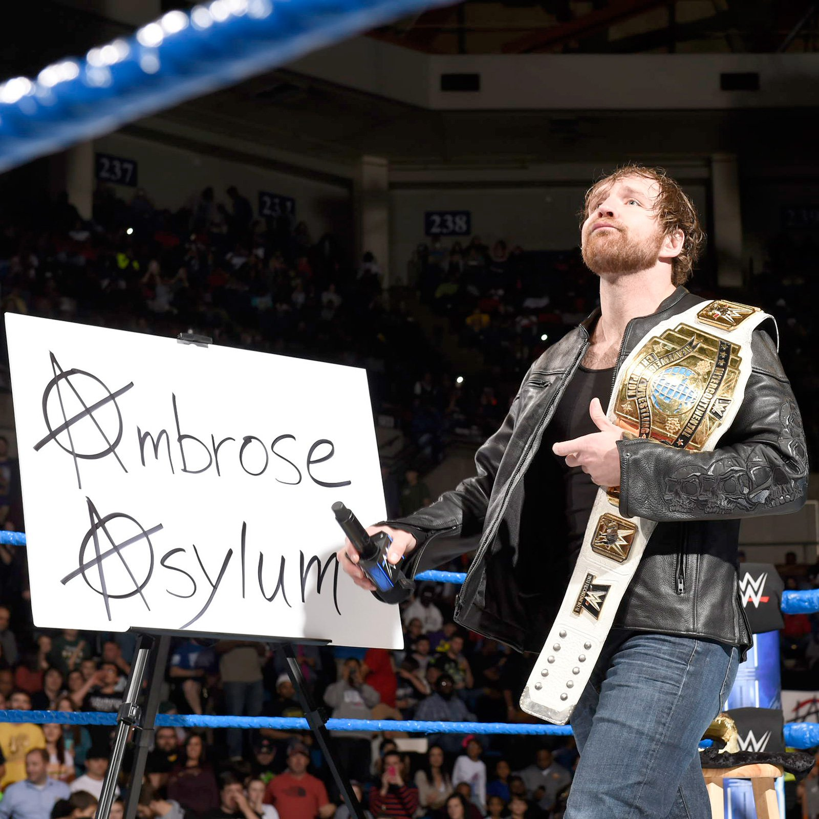 "Intercontinental Champion Dean Ambrose welcomes the WWE Universe to the first ""Ambrose Asylum"" of 2017."