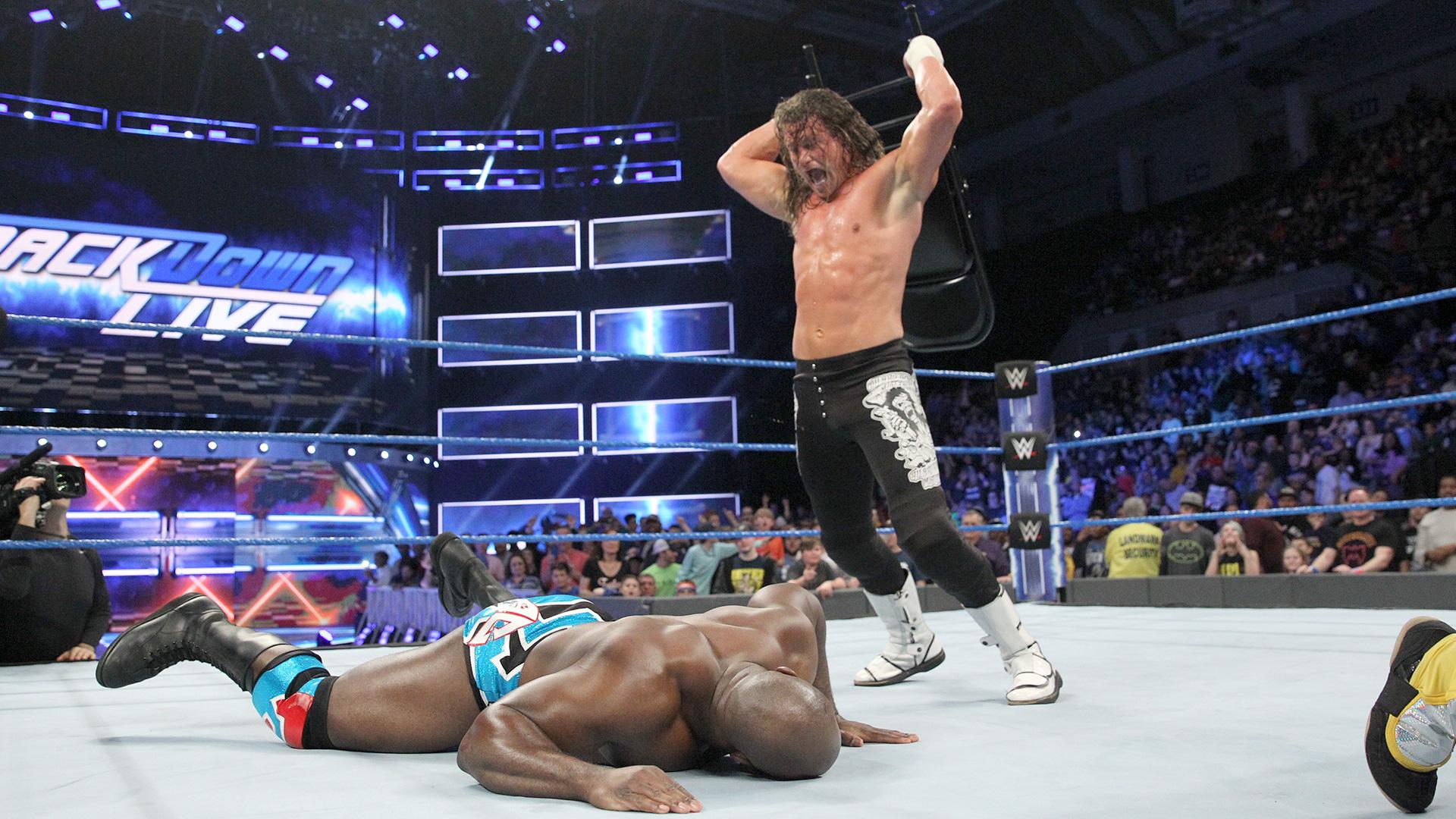 Kalisto vs. Dolph Ziggler: SmackDown LIVE, 10 jan. 2017