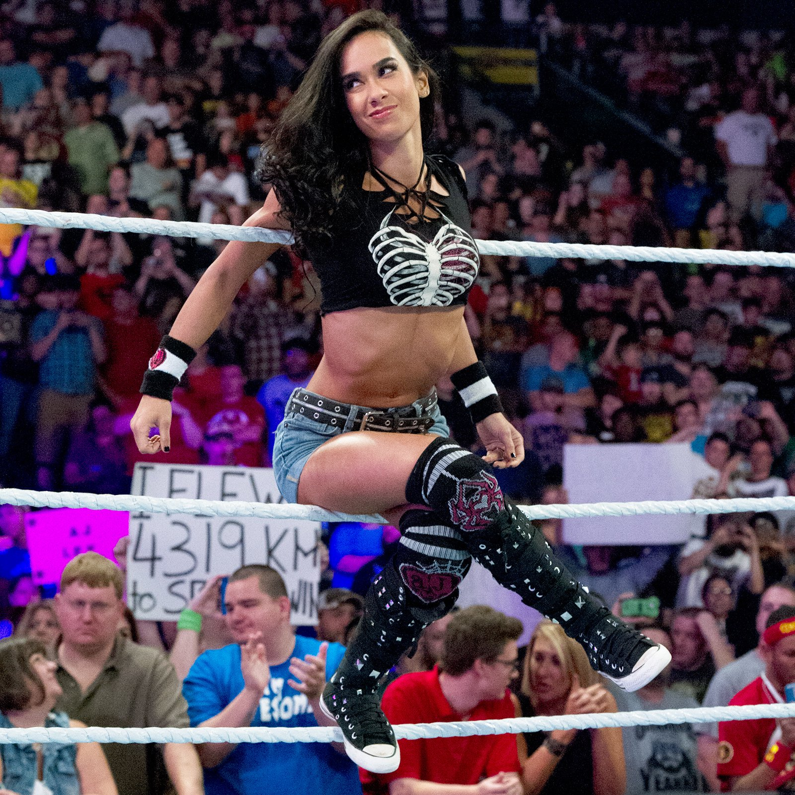 AJ Lee's Black Widow