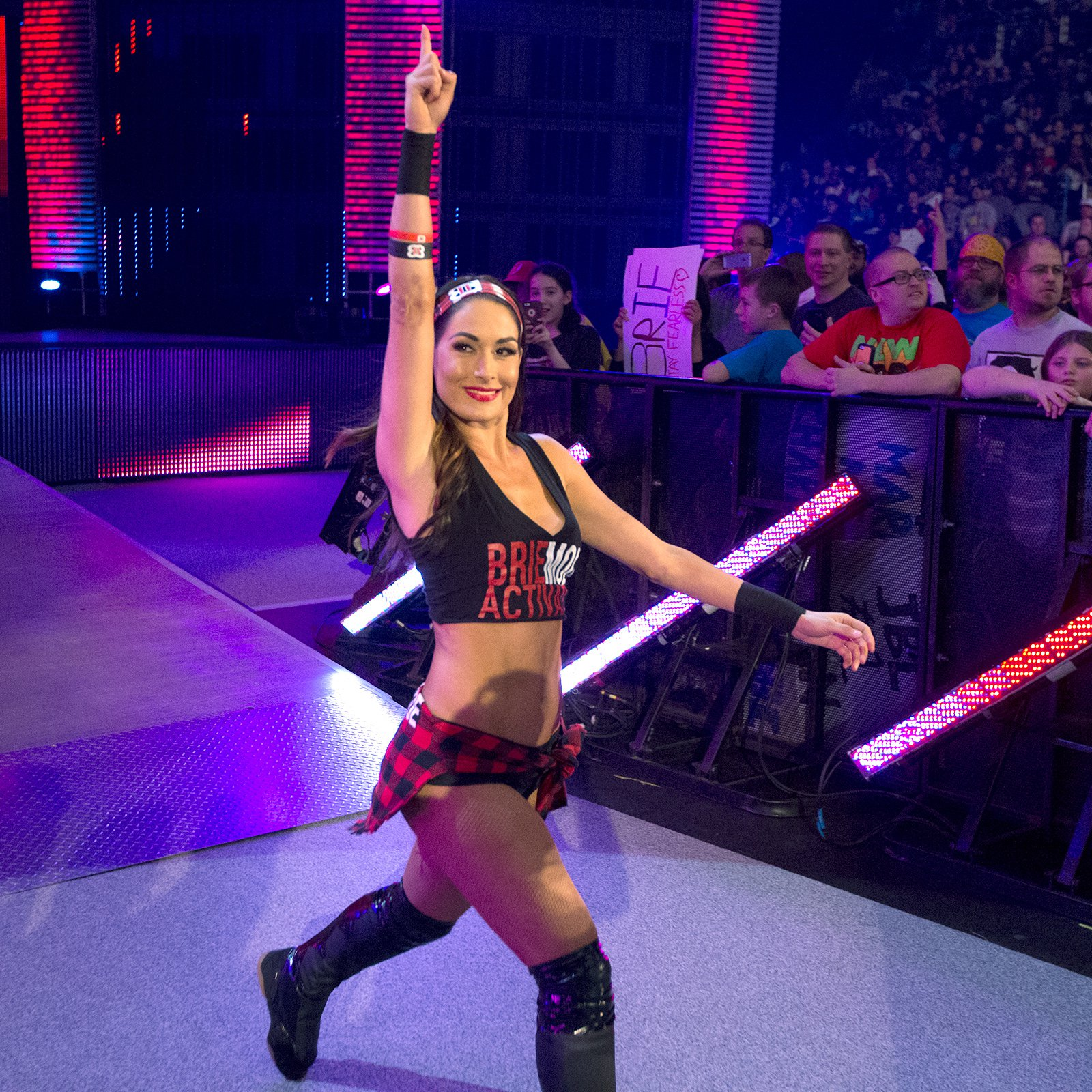 Brie Bella's Yes! Lock