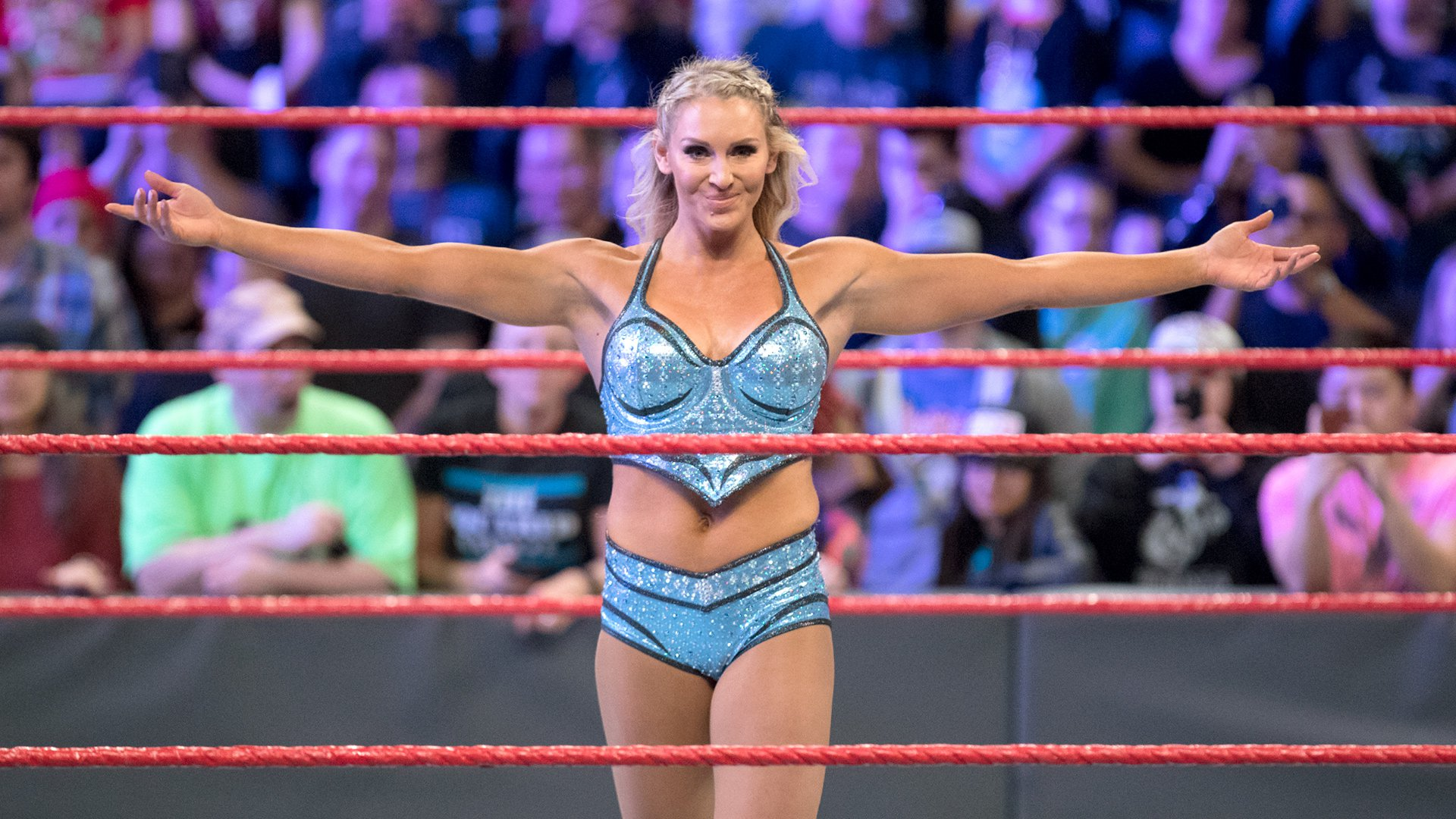 Charlotte Flair's Figure-Eight Leglock
