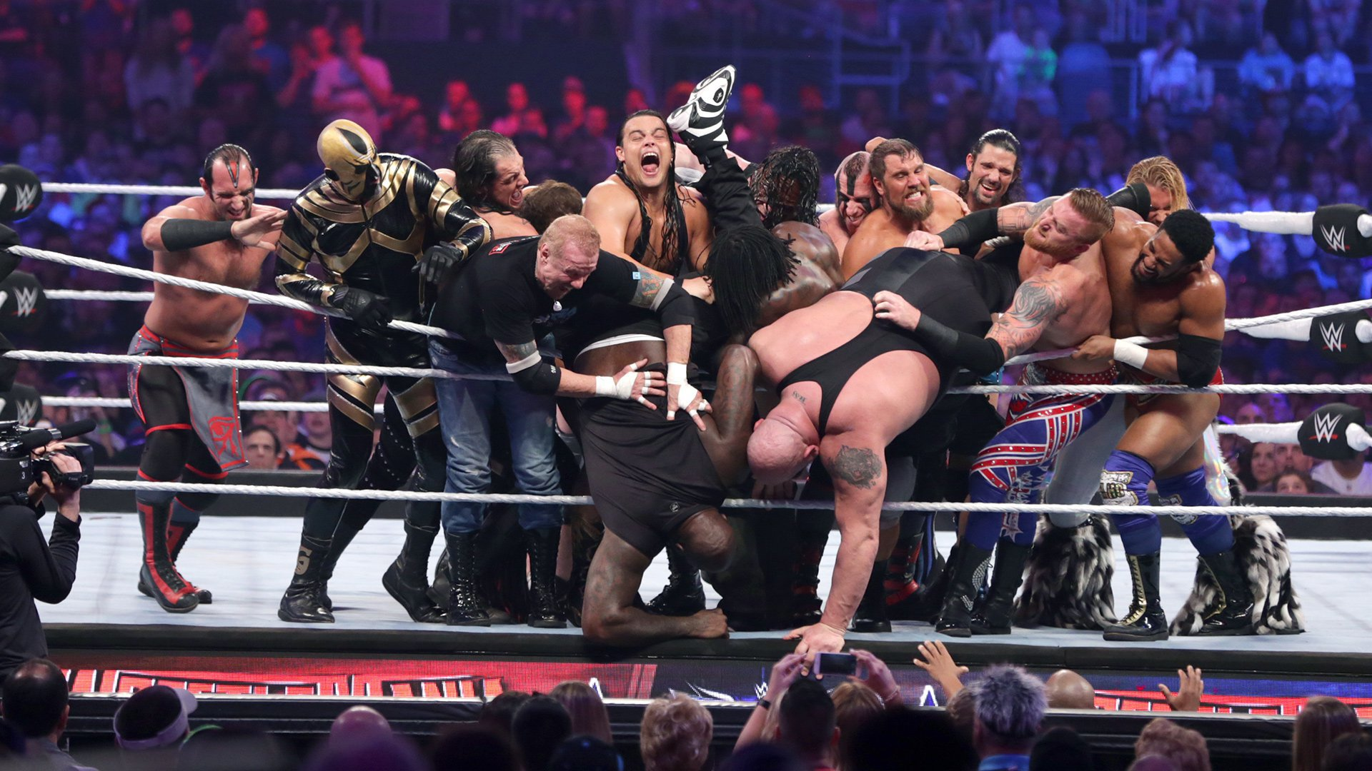 The over-the-top history of WrestleMania Battle Royals