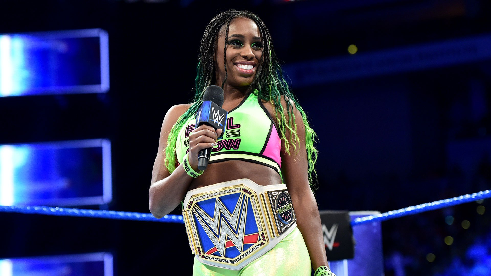 Naomi says she would be happy to face Charlotte one-on-one...