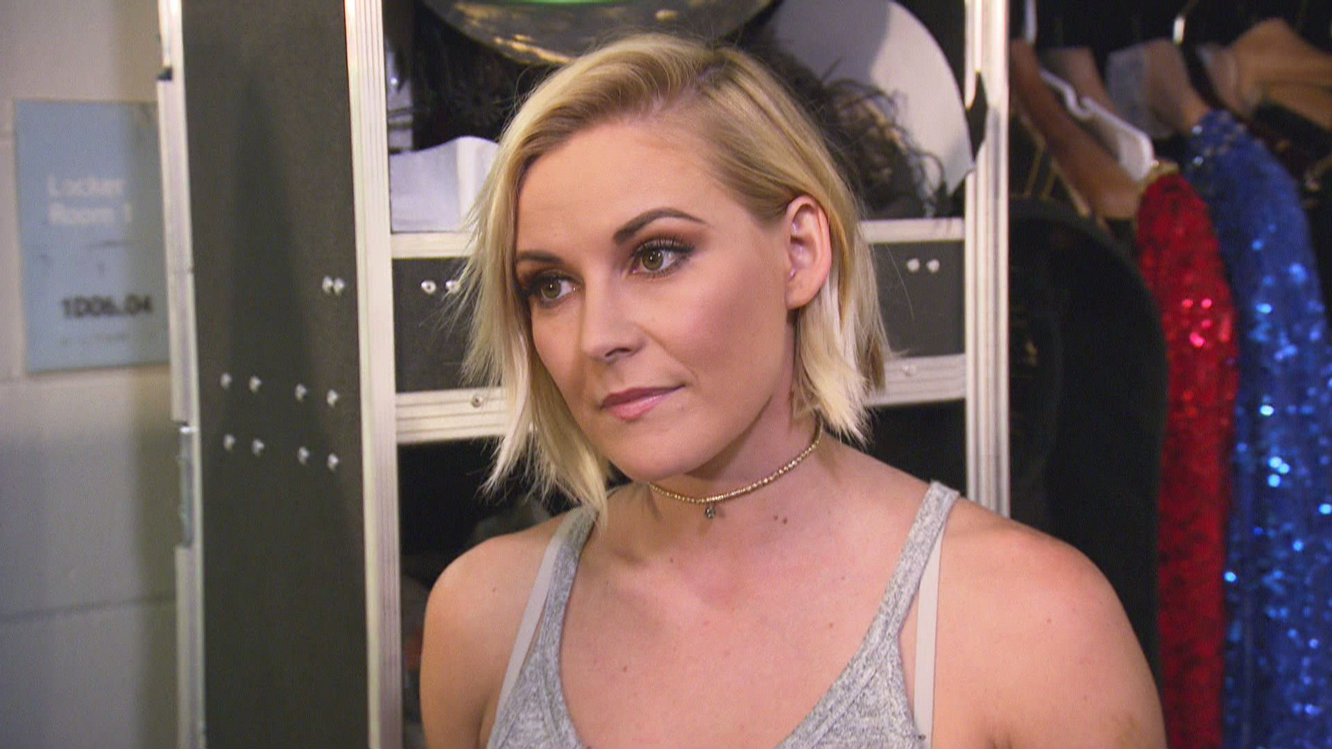 Renee Young and Naomi are not amused at the idea that the Draft could split them up from Dean Ambrose and Jimmy Uso, and they openly contemplate finding other jobs if that should happen.