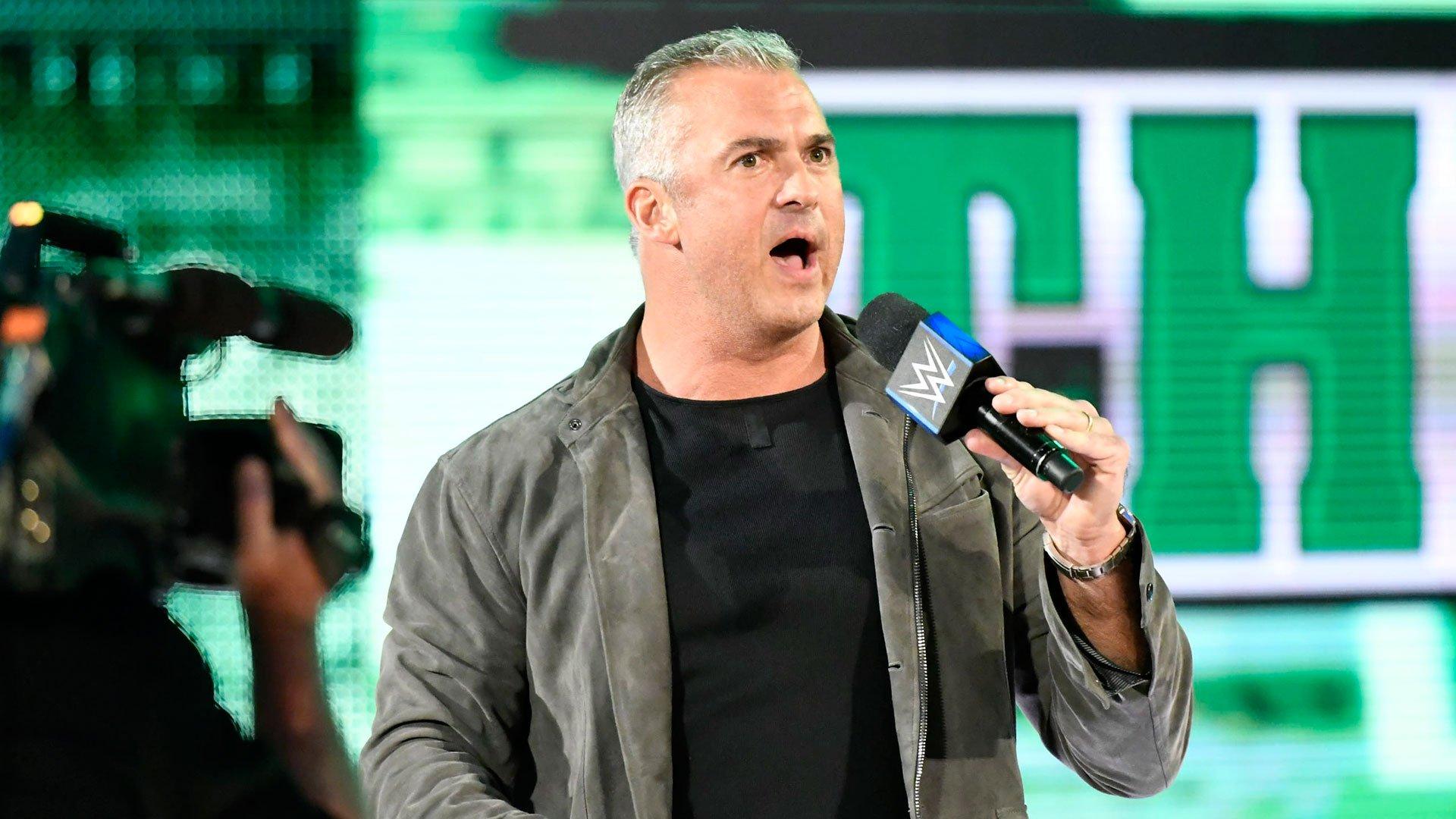 SmackDown LIVE Commissioner Shane McMahon hits the scene.