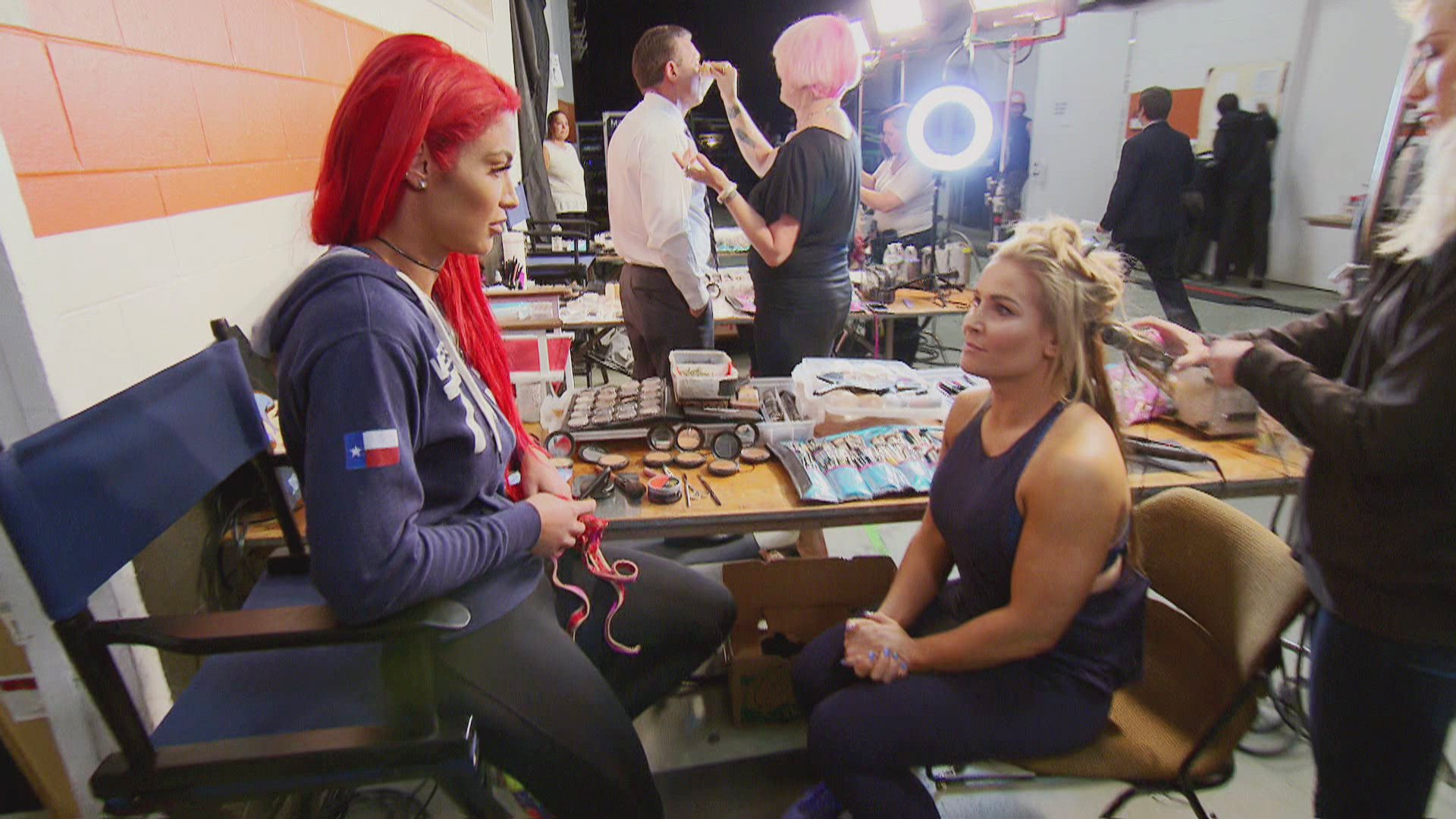 Eva expresses impatience with her current role, to which Natalya suggests she enjoy the moment and make the most of it.