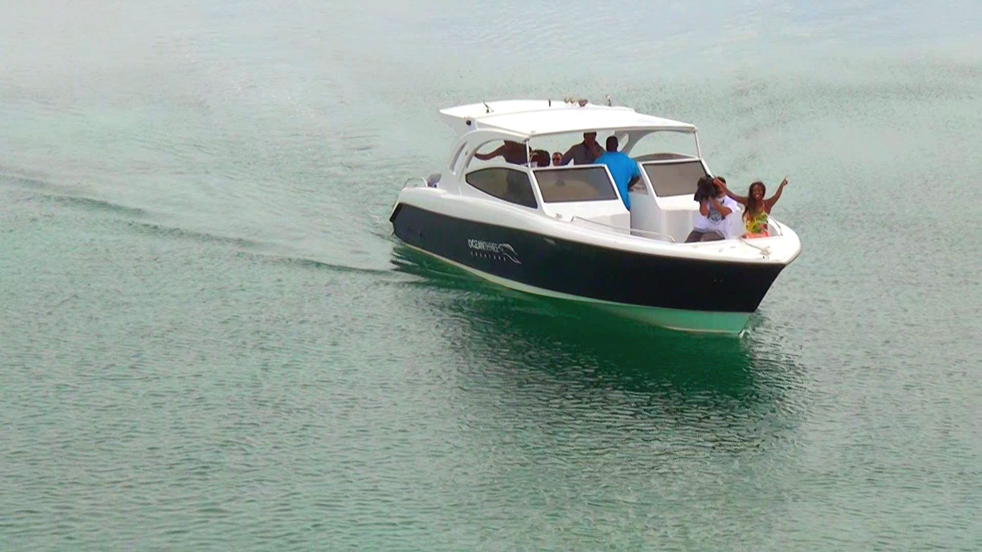 Naomi arrives by boat to complete the Anguilla crew, giving Renee some much-needed company.