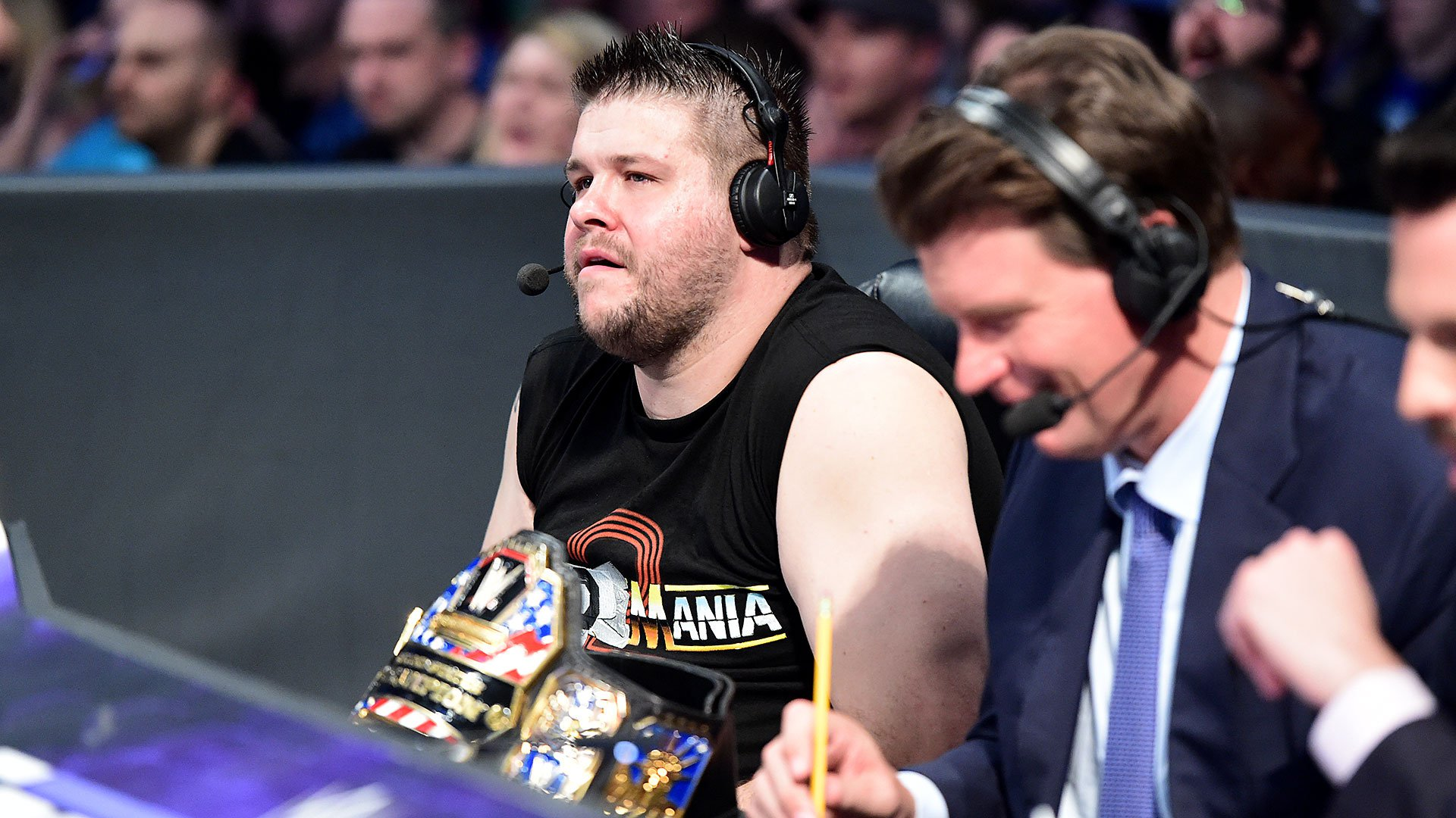 Kevin Owens offers his unique insights on commentary.