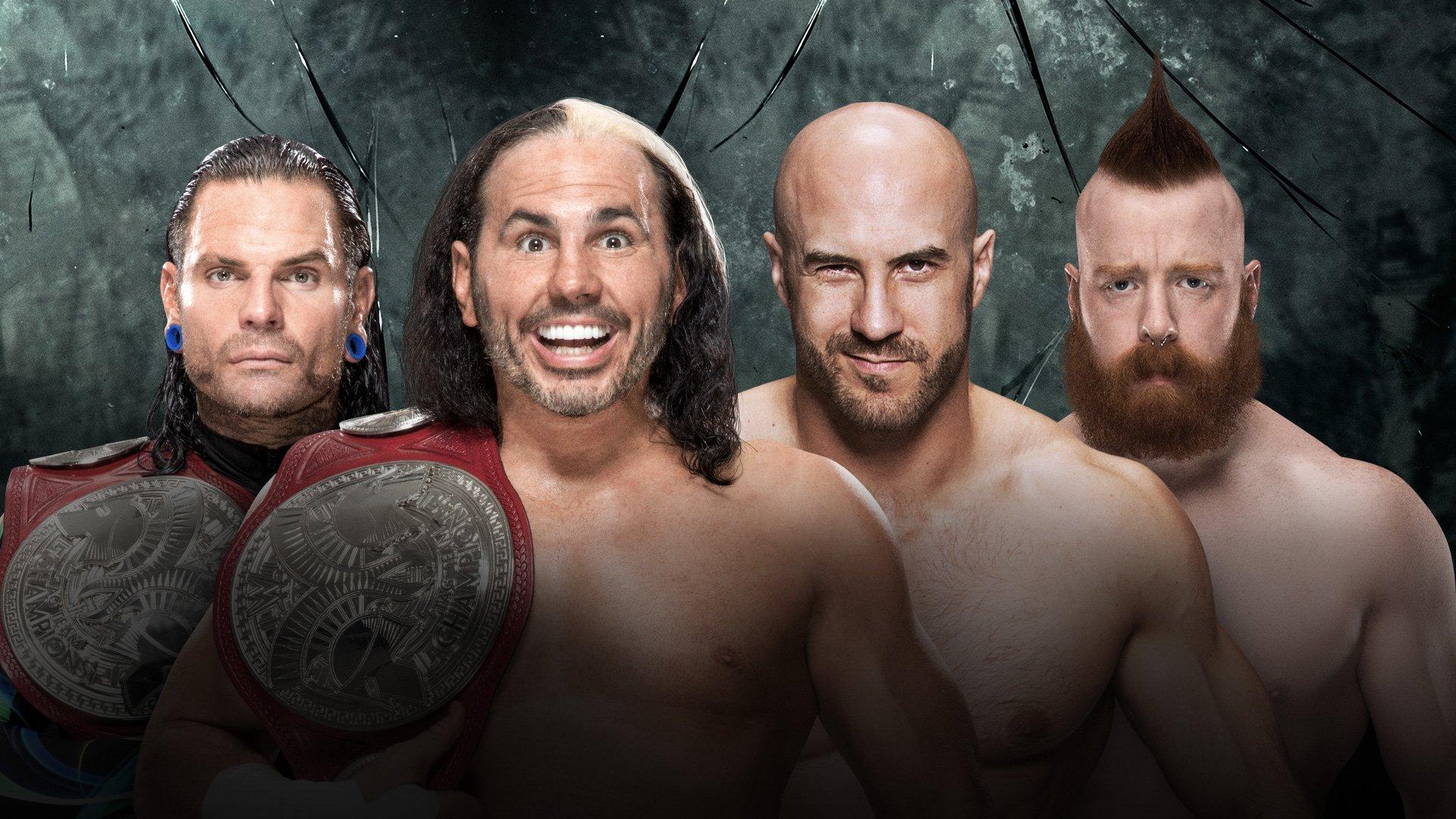 WWE Payback 2017: Hardy Boyz vs. Cesaro & Sheamus