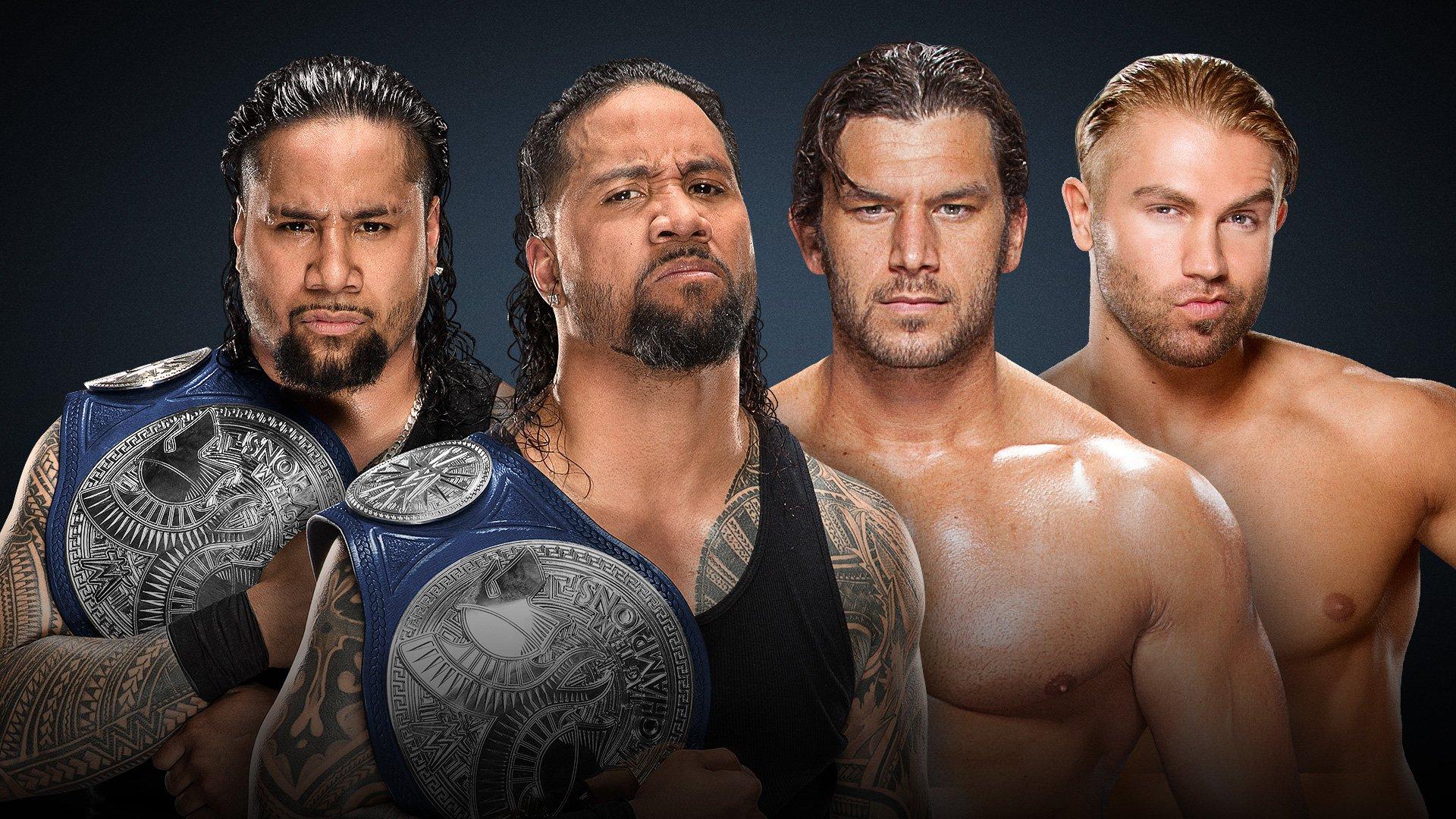WWE Backlash 2017: The Usos vs. Breezango