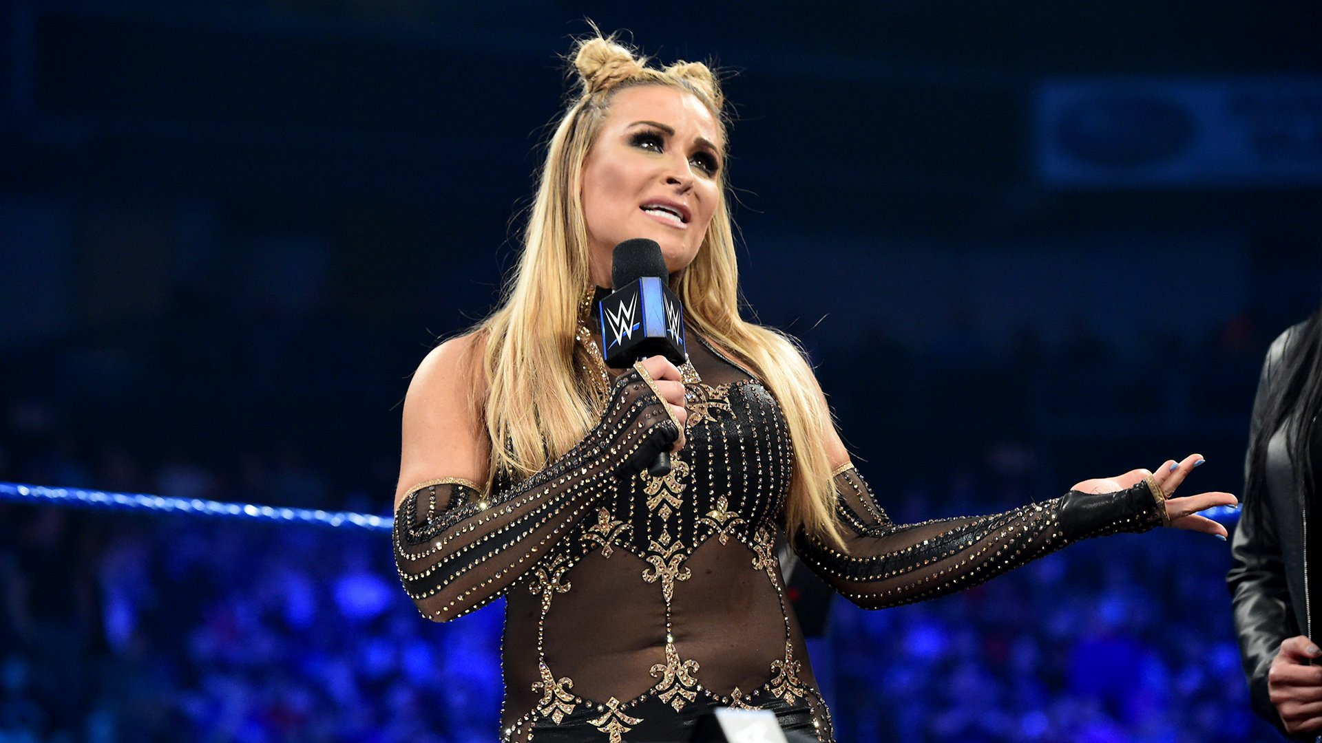 "Natalya reminds Becky Lynch that she had an opportunity to join the ""welcoming committee,"" but now it's too late."
