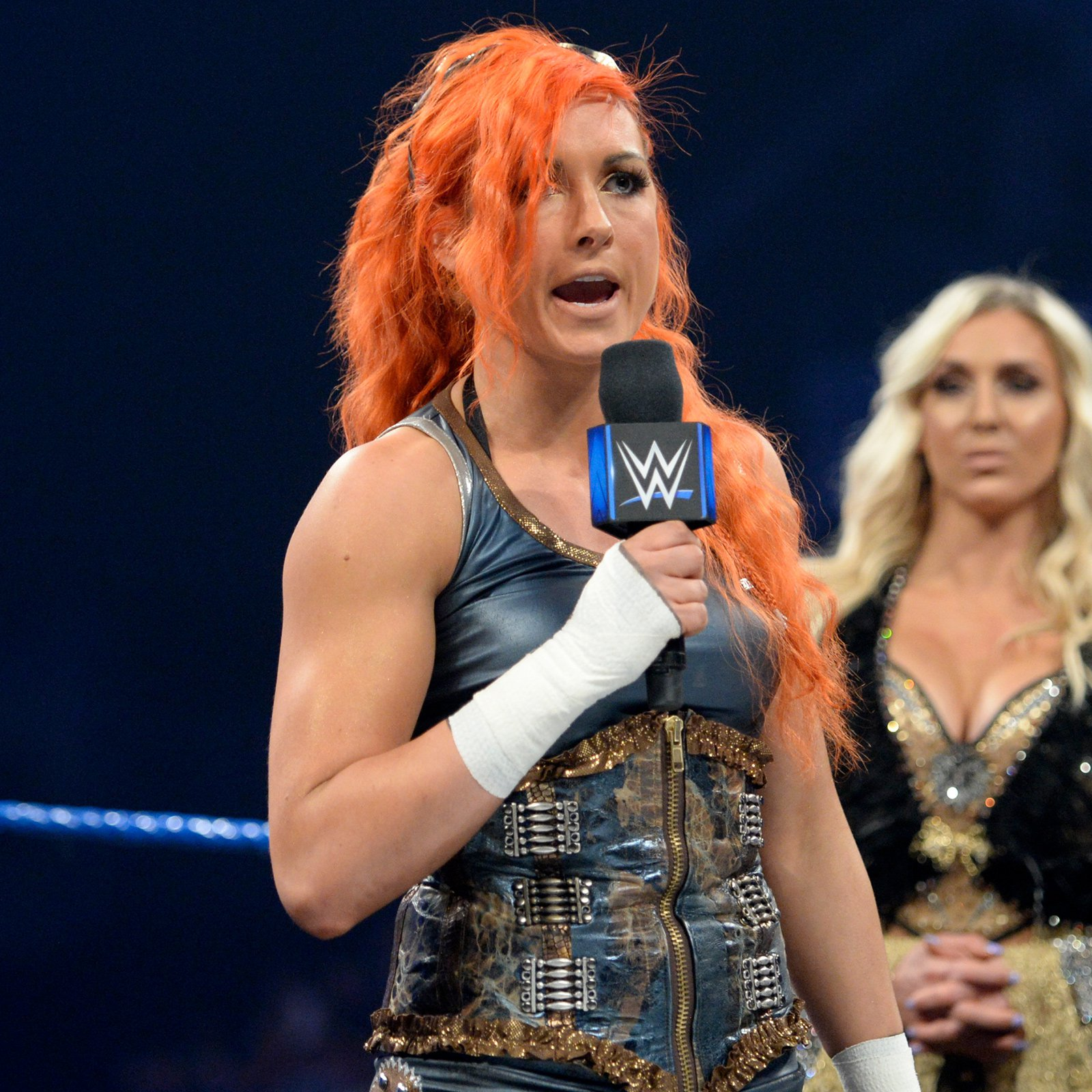 "The Irish Lass Kicker doesn't regret not joining the ""welcoming committee"" after Natalya's offer..."