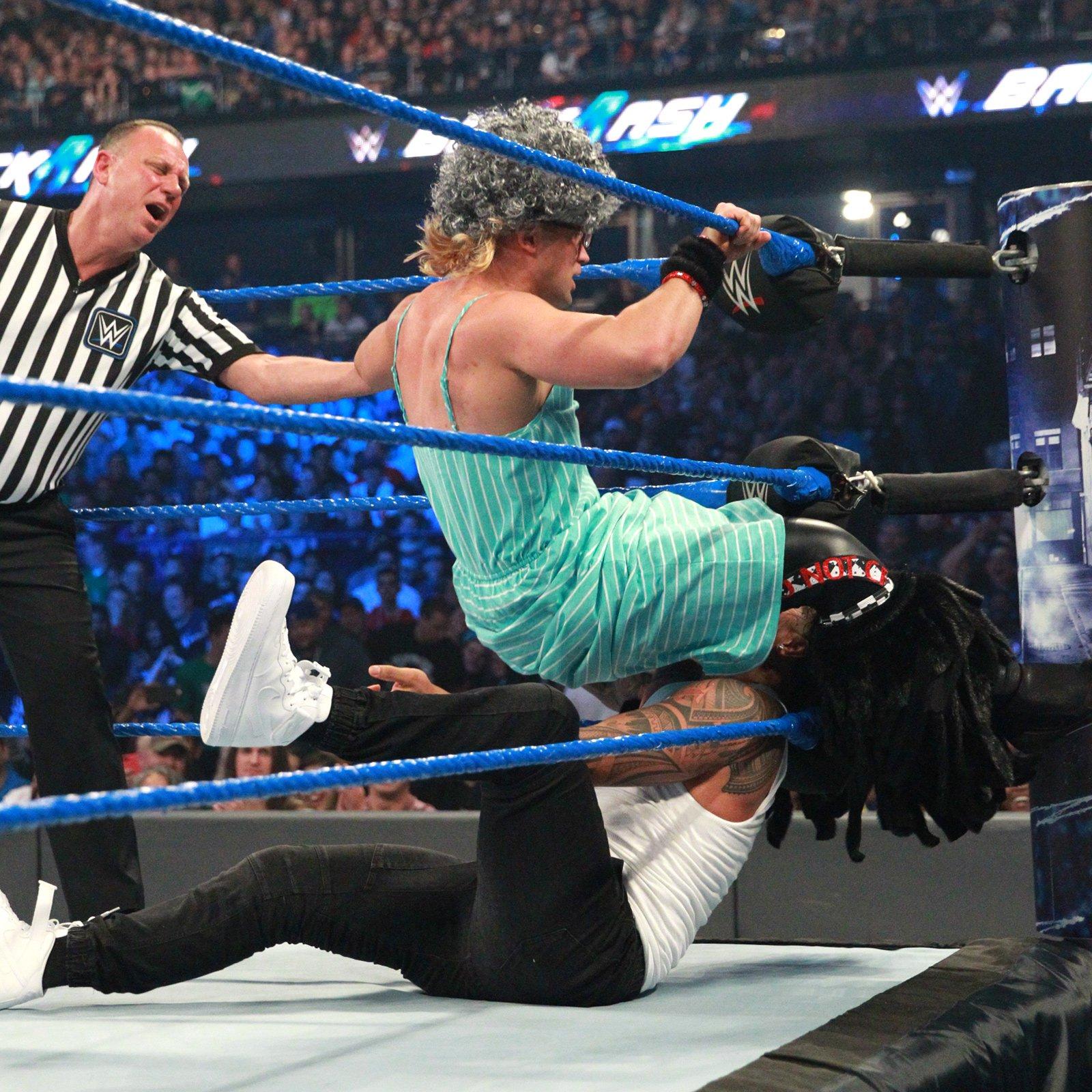 Grandma Breeze shows off some impressive in-ring ability.