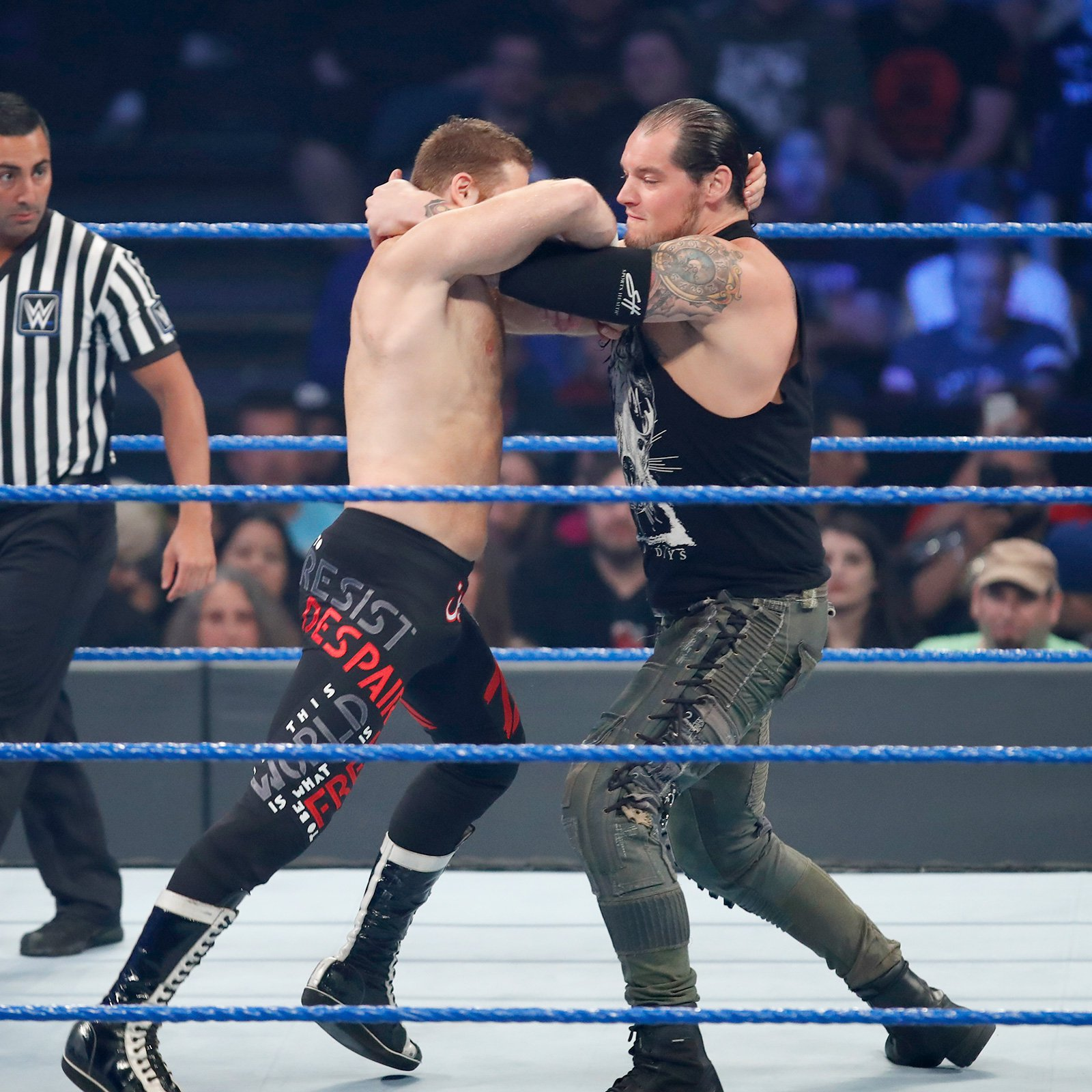 The bitter rivalry between Baron Corbin and Sami Zayn comes to a head at WWE Backlash.