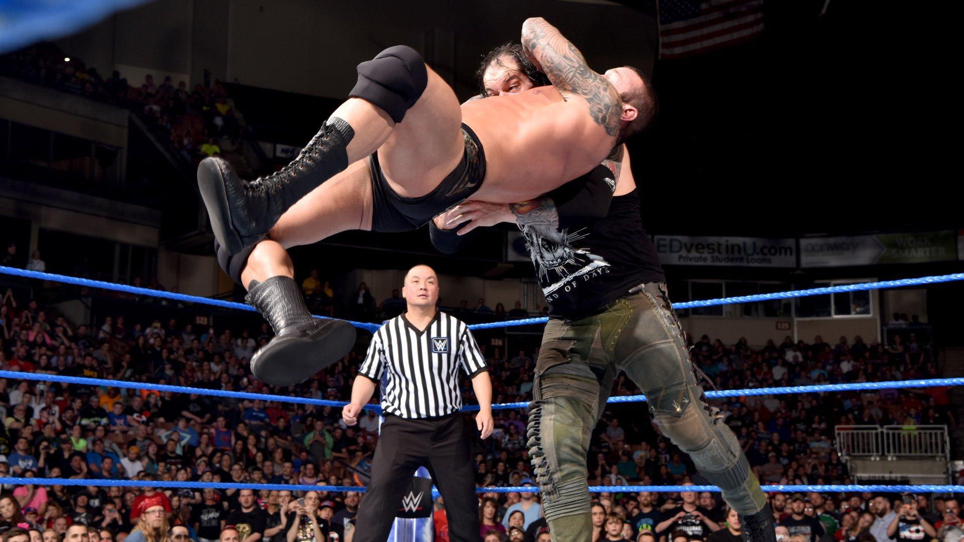 Randy Orton vs. Baron Corbin: photos