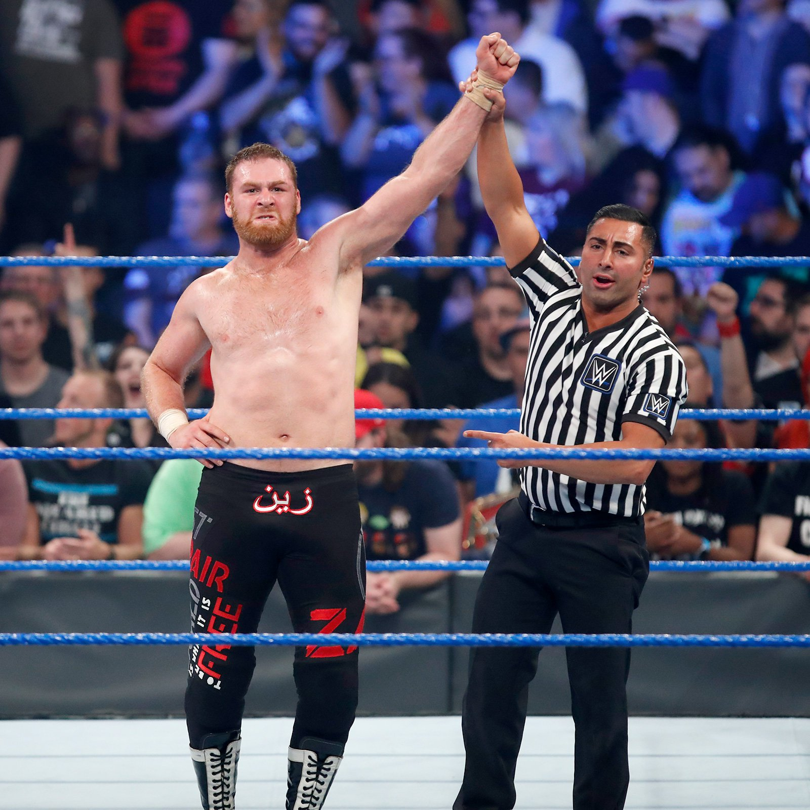 Sami Zayn comes away with an impressive victory in Chicago at WWE Backlash.